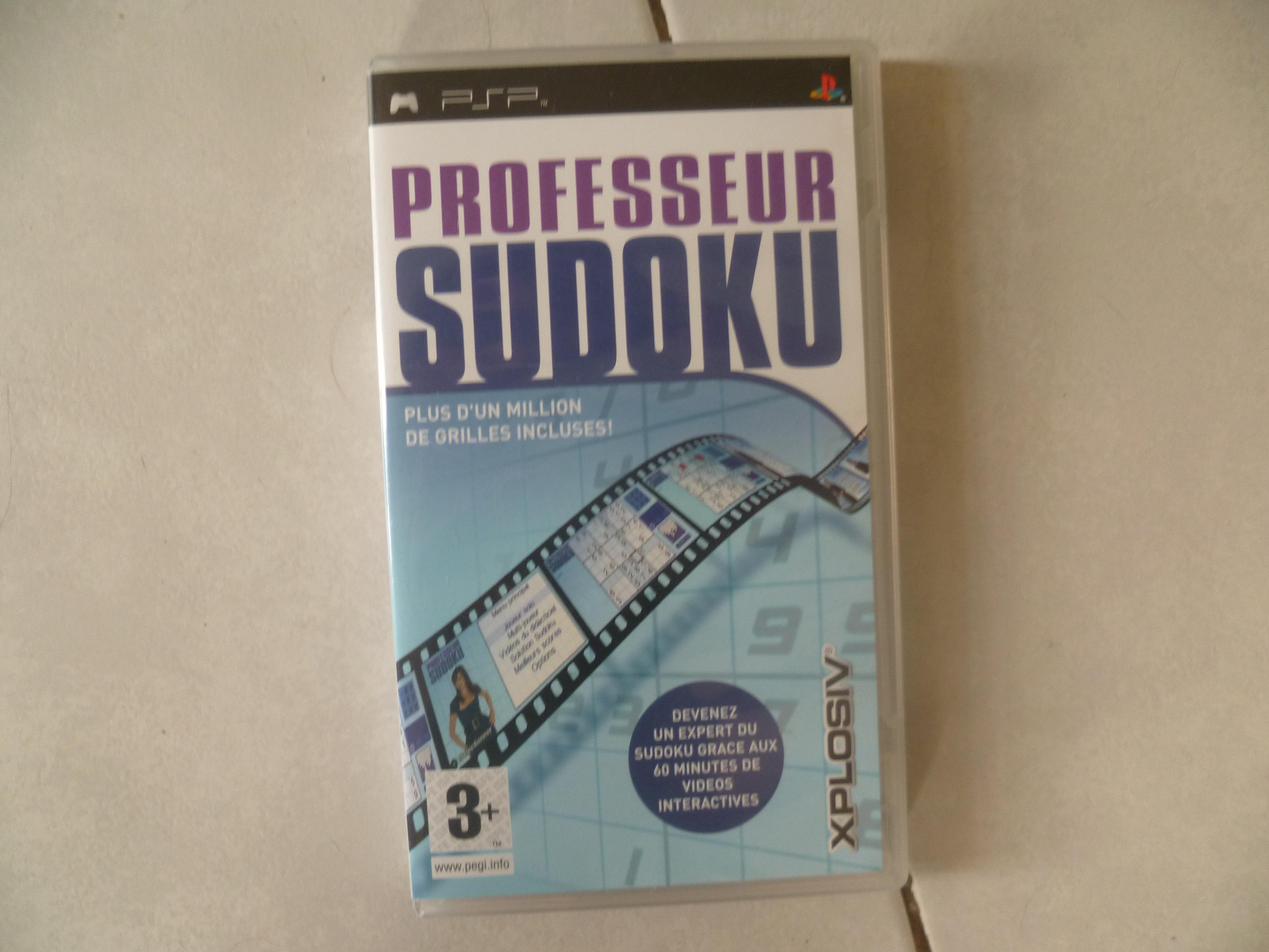 troc de troc jeu psp professeur sudoku image 0