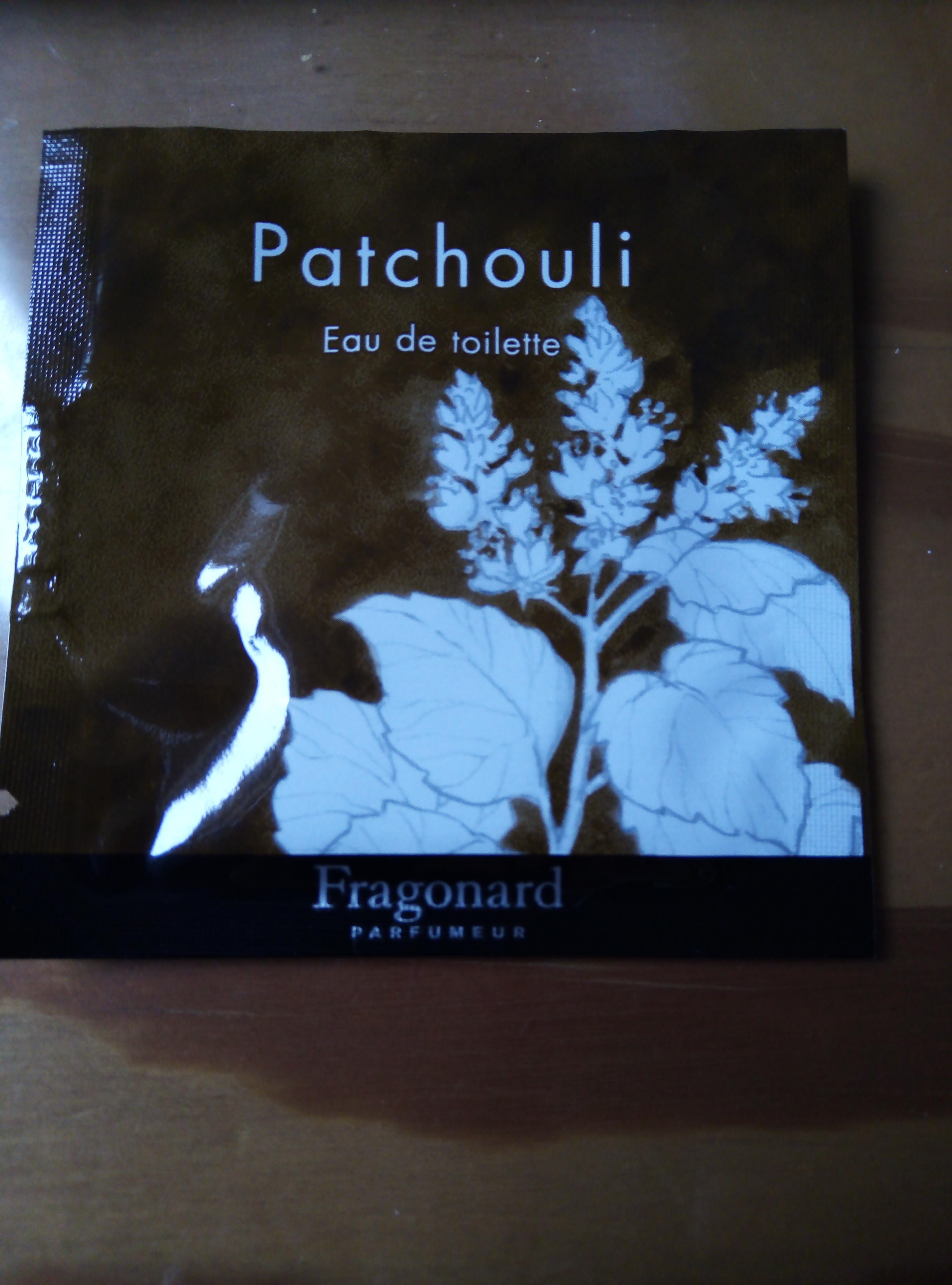 """troc de troc res fid - Échantillon """"patchouli"""" fragonard image 0"""