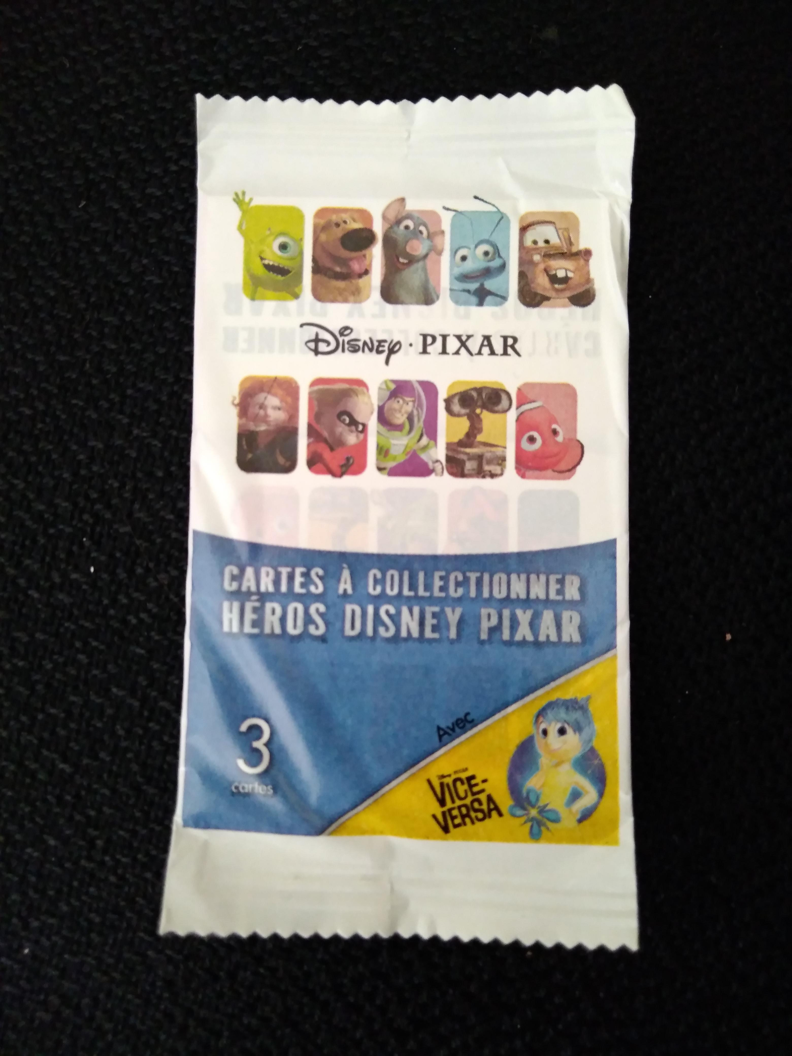 troc de troc carte héros disney pixar image 0
