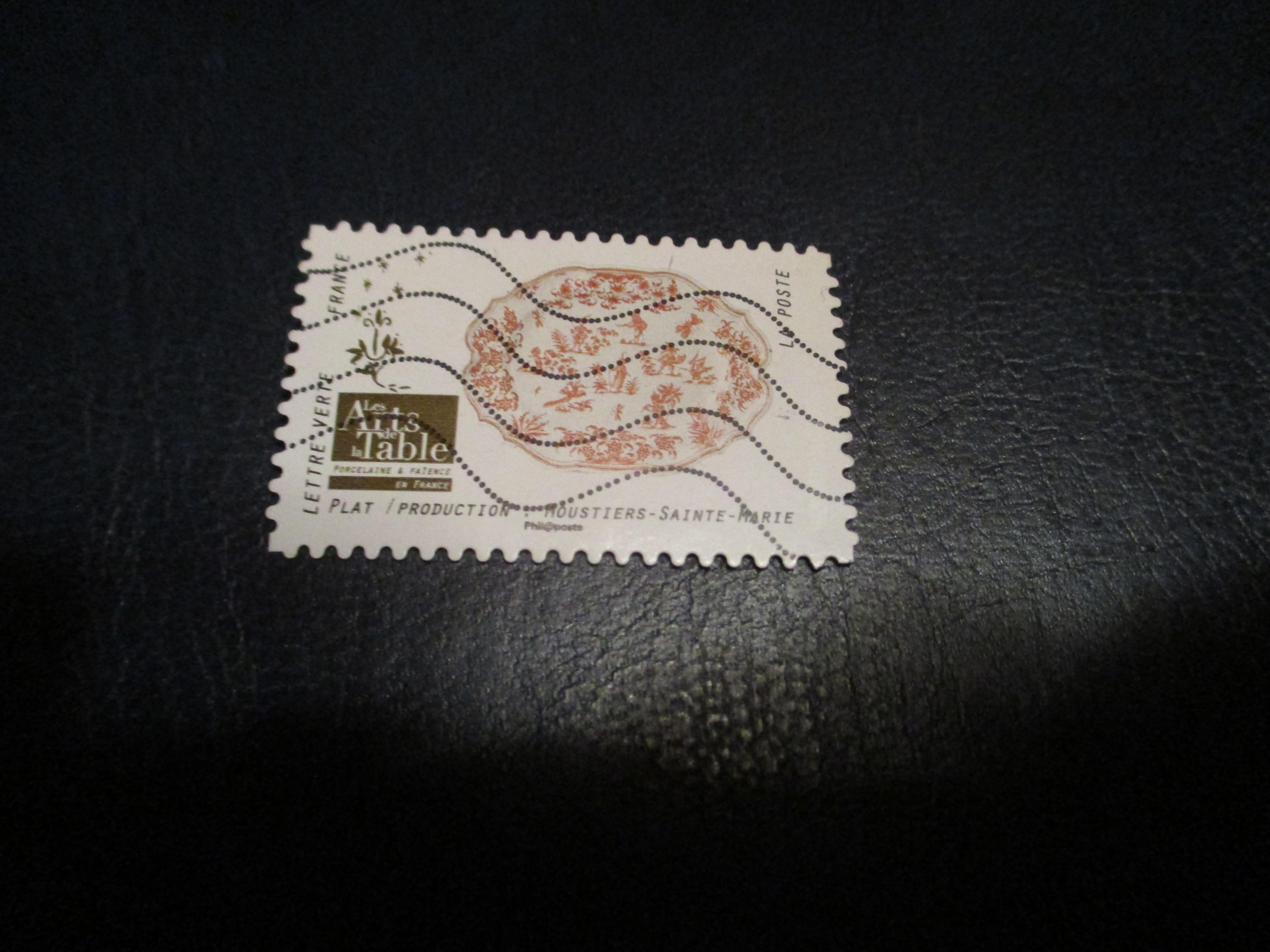 troc de troc timbre art de la table : plat moustiers sainte marie image 0