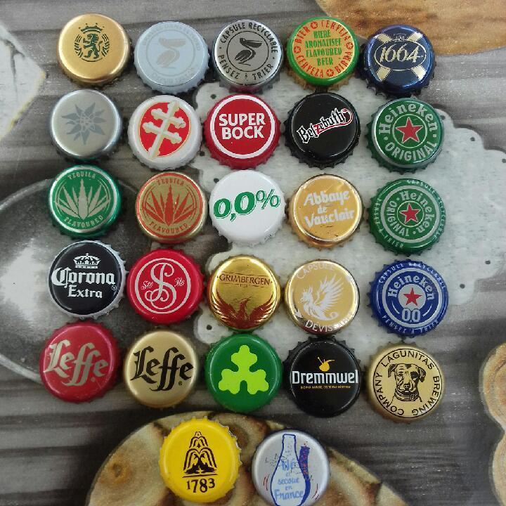 troc de troc collection - capsules bière et divers - nbre 27 image 0