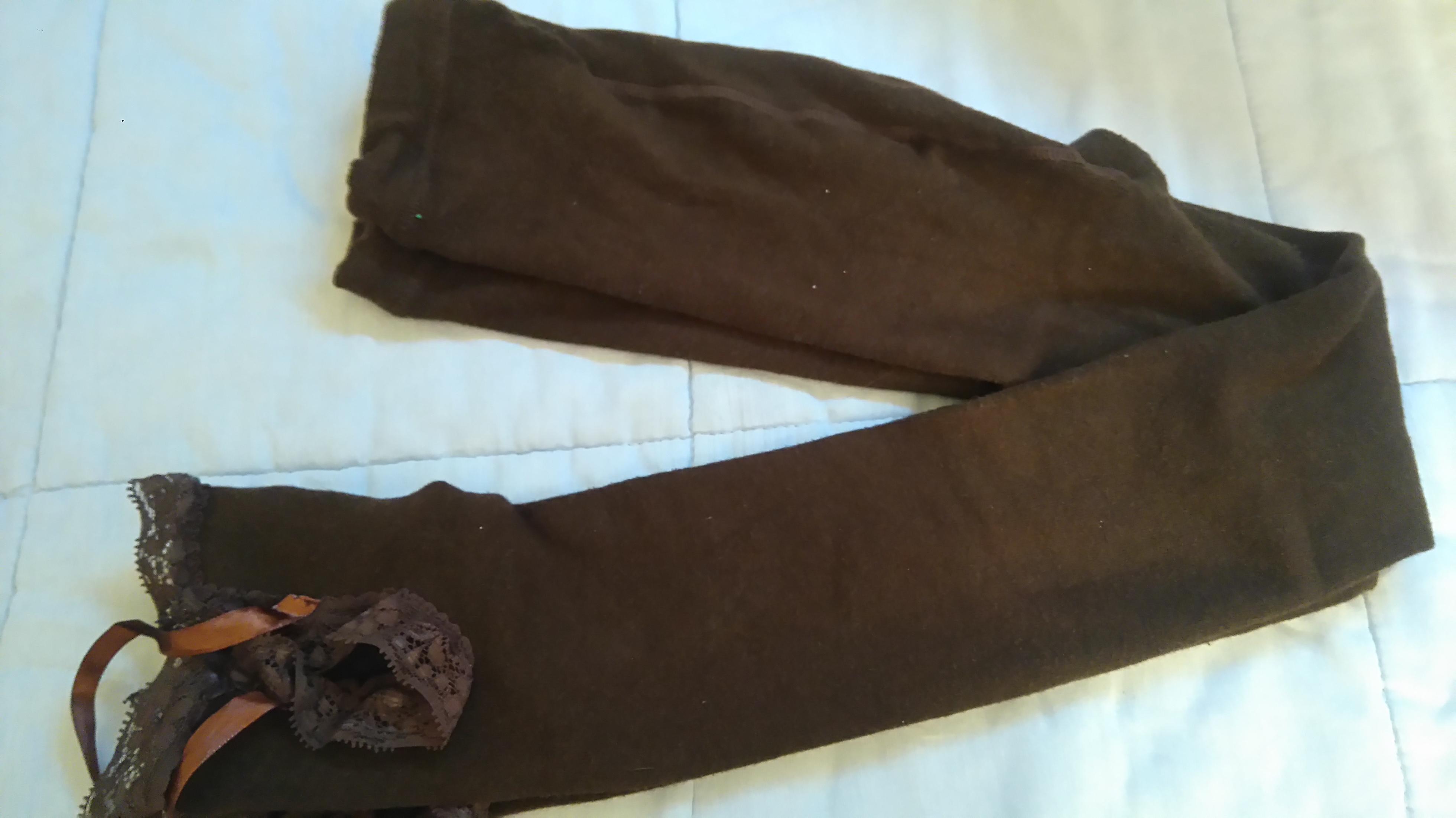 troc de troc leggings marron image 0