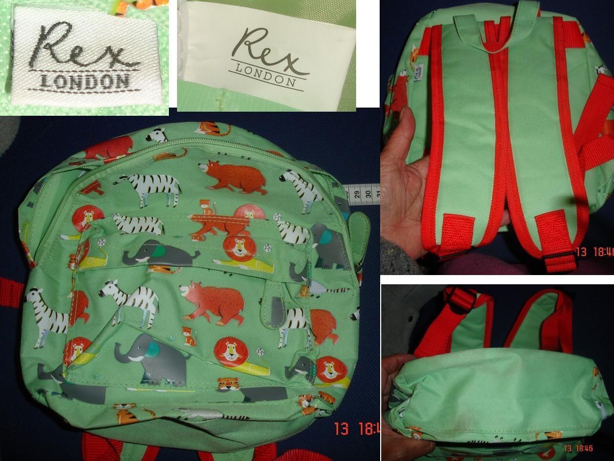 troc de troc sac à dos animaux d'afrique / souvenir de londres > rex london image 1