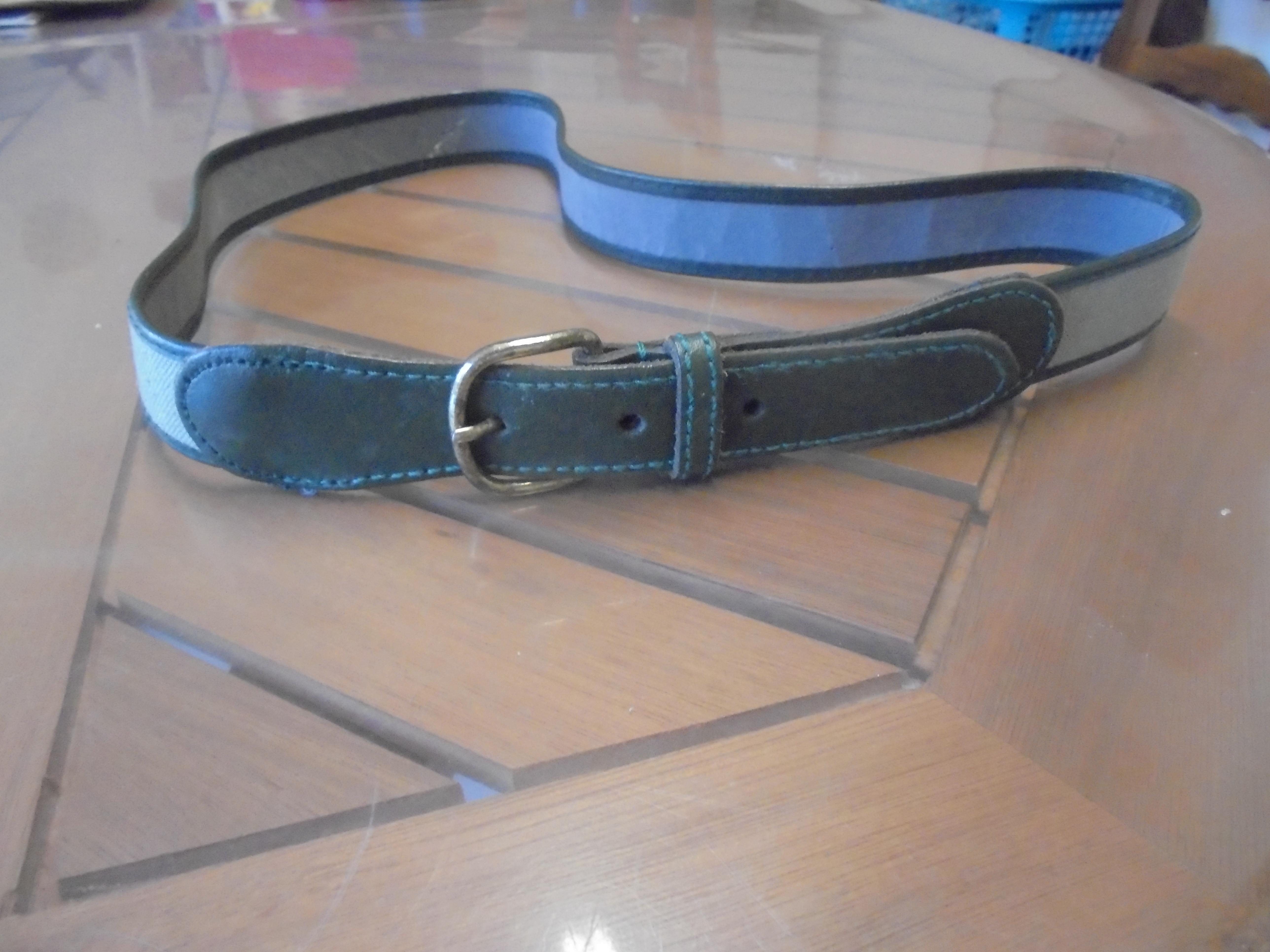 troc de troc ceinture grise longueur  90 cm largeur 2,5 cm  3  noisettes image 0