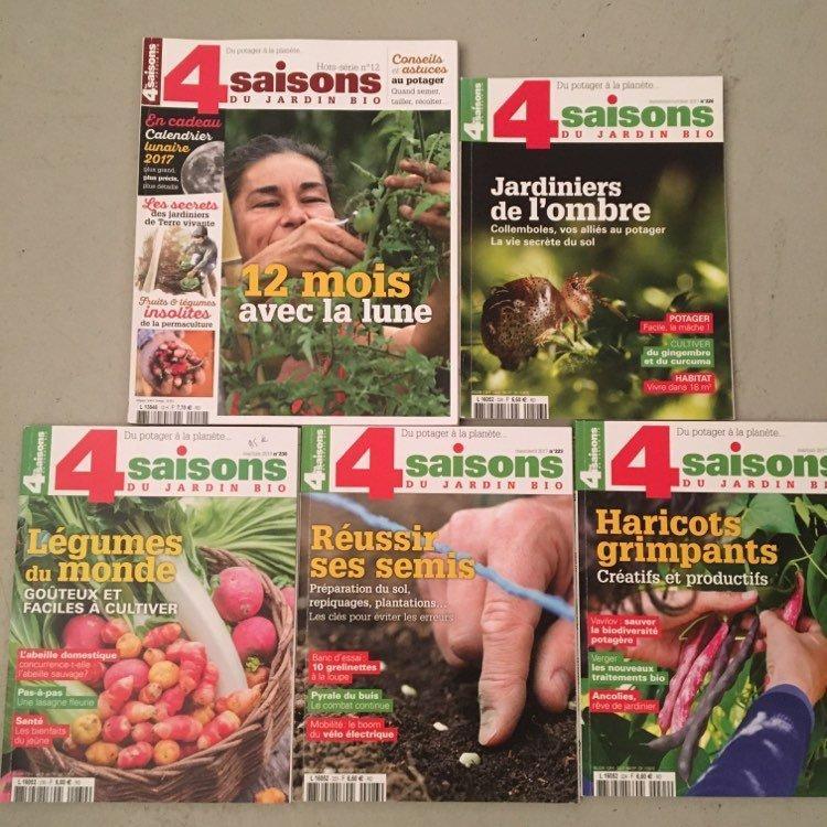 troc de troc 3 lots de magazines de jardinage neufs image 2