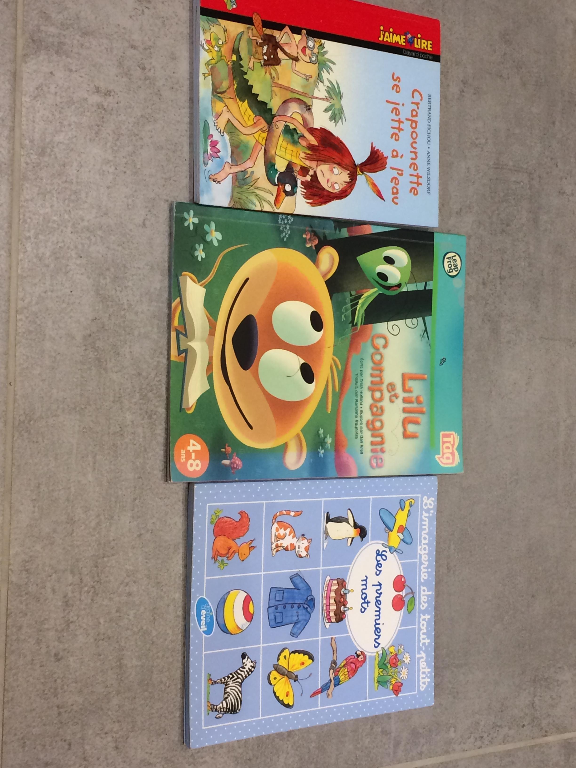 troc de troc 3 livres enfants 1 image 0