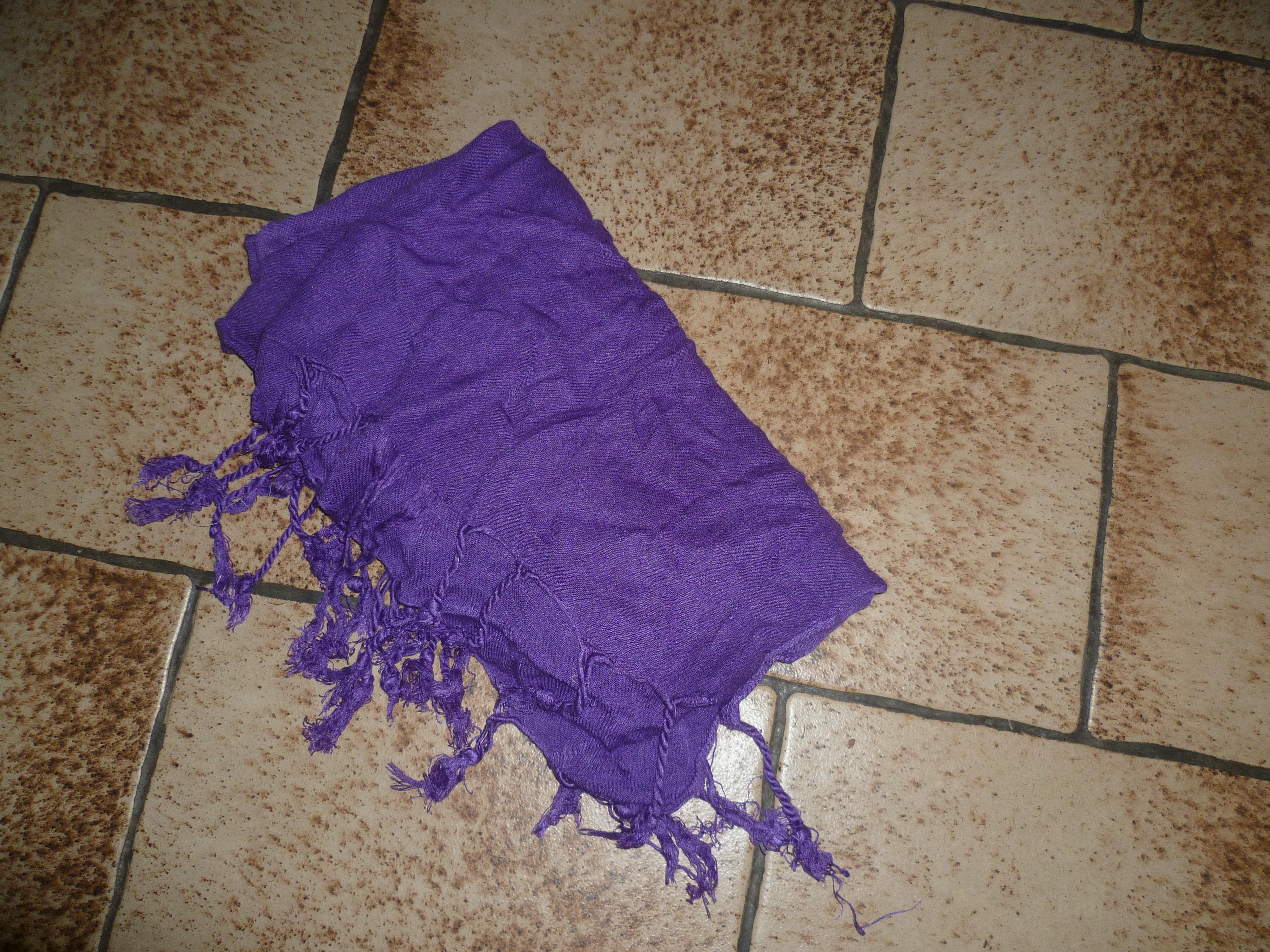 troc de troc reserve - grande étole violette image 0