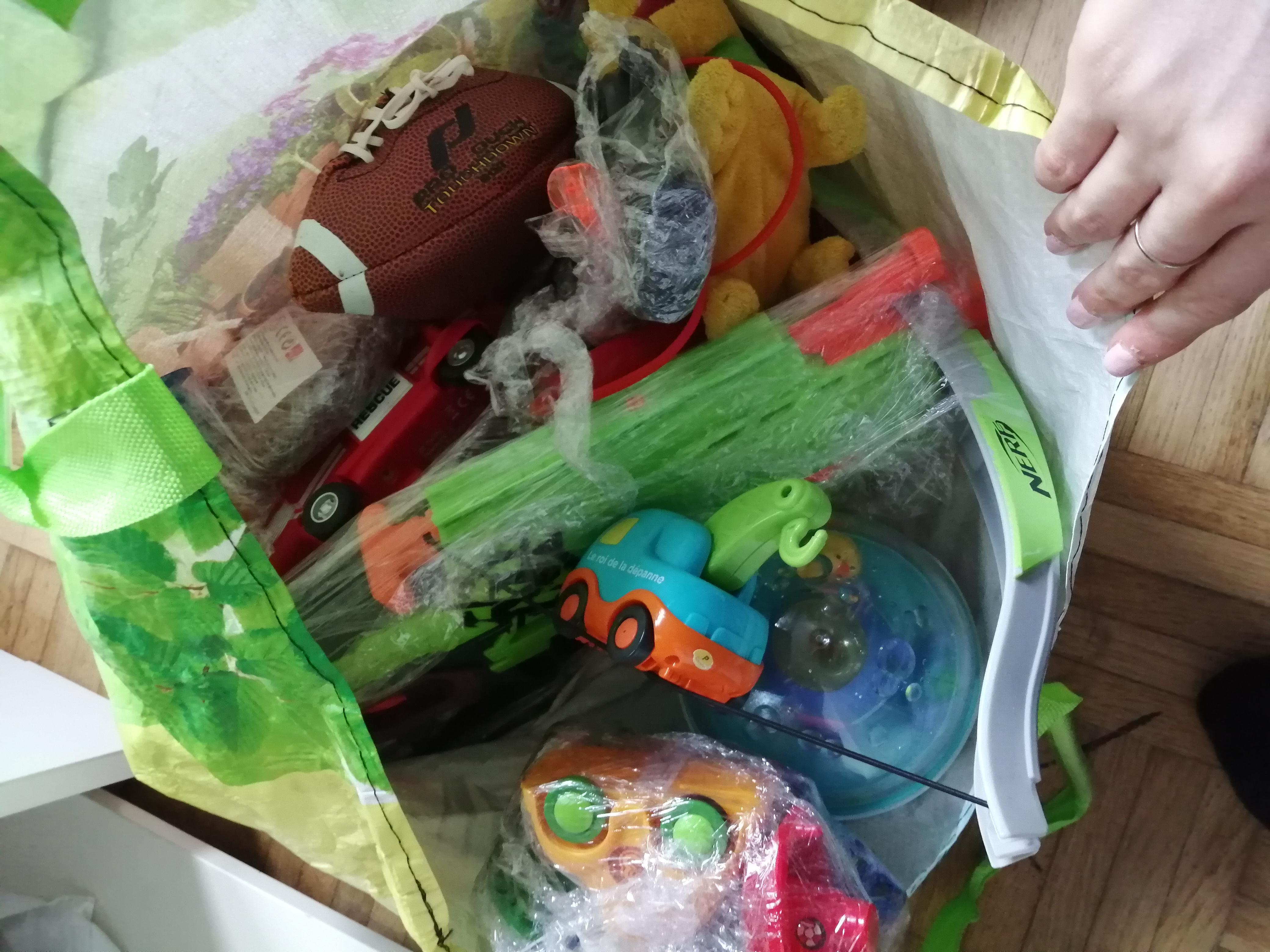troc de troc sac de jouets image 0