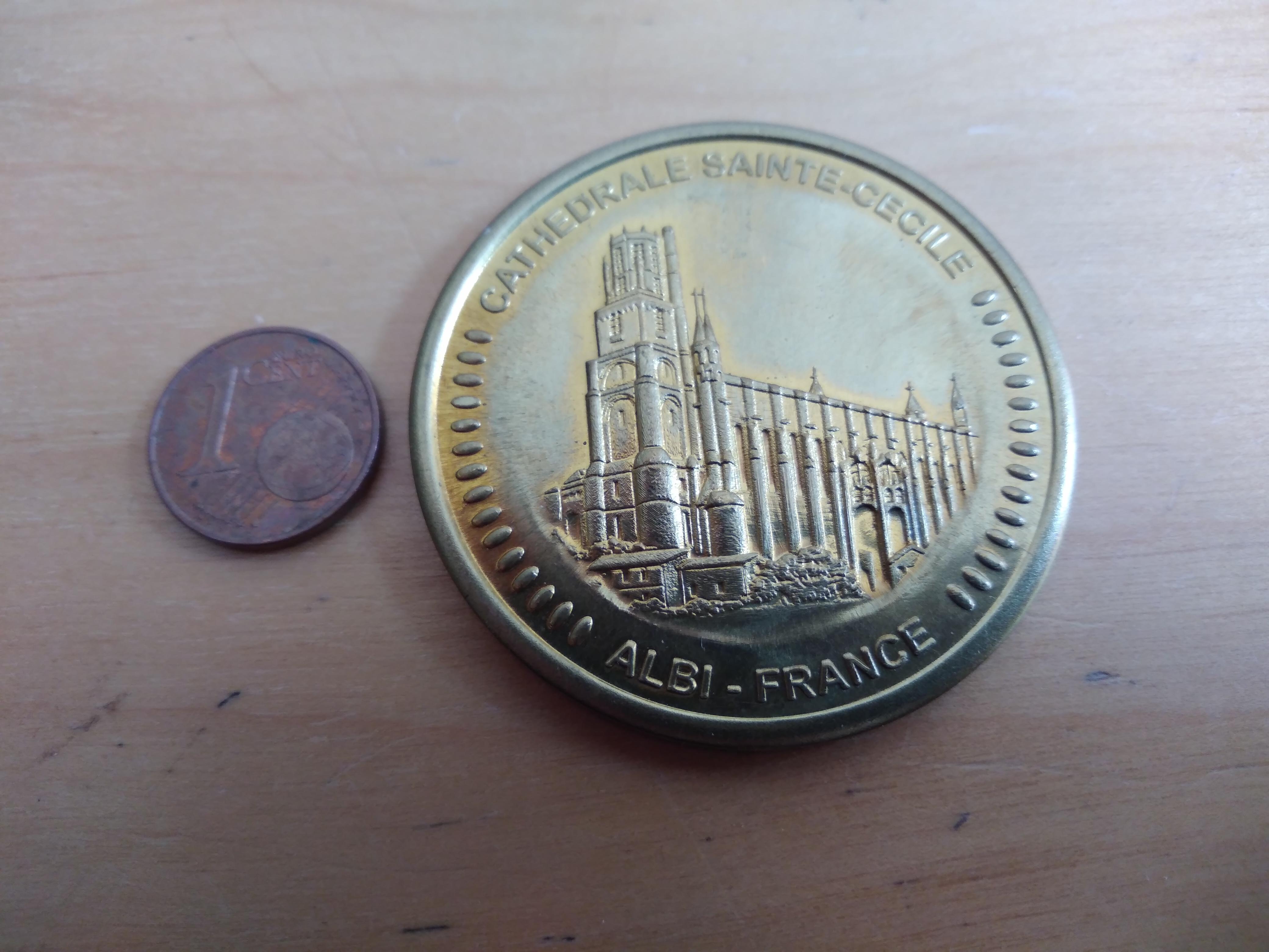 troc de troc médaille souvenir image 1
