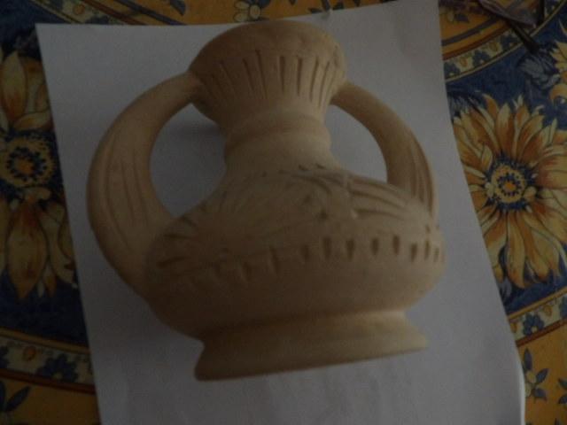 troc de troc vase rapporté de tunisie 13 cm environ image 0