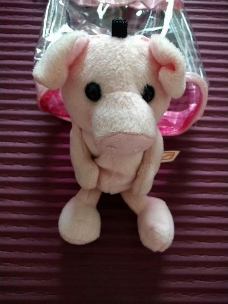troc de troc petit cochon à adopter (peut être suspendu, utilisé comme house de portable ou en petit compagnon) image 0