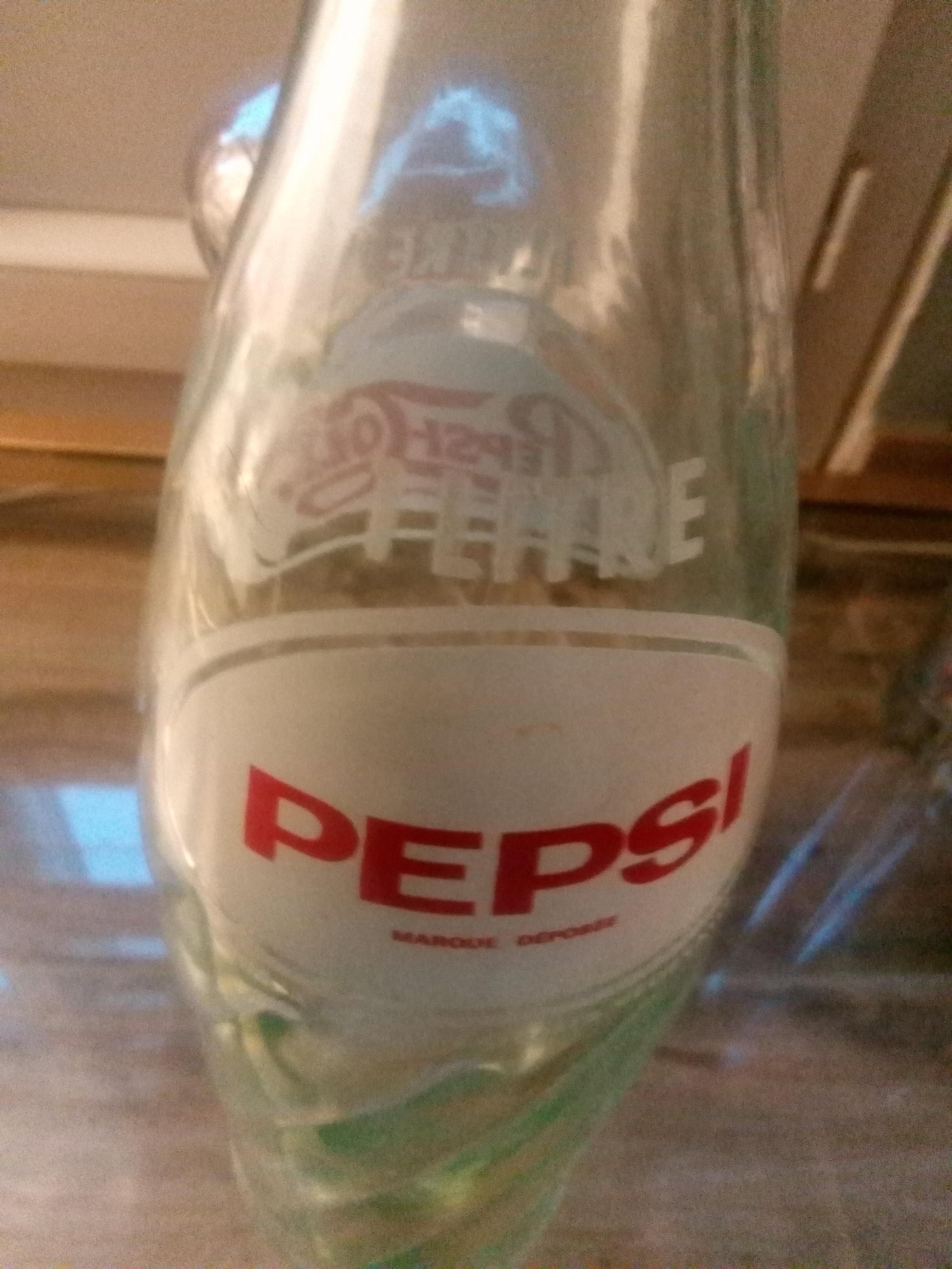 troc de troc ancienne bouteille de pepsi image 2