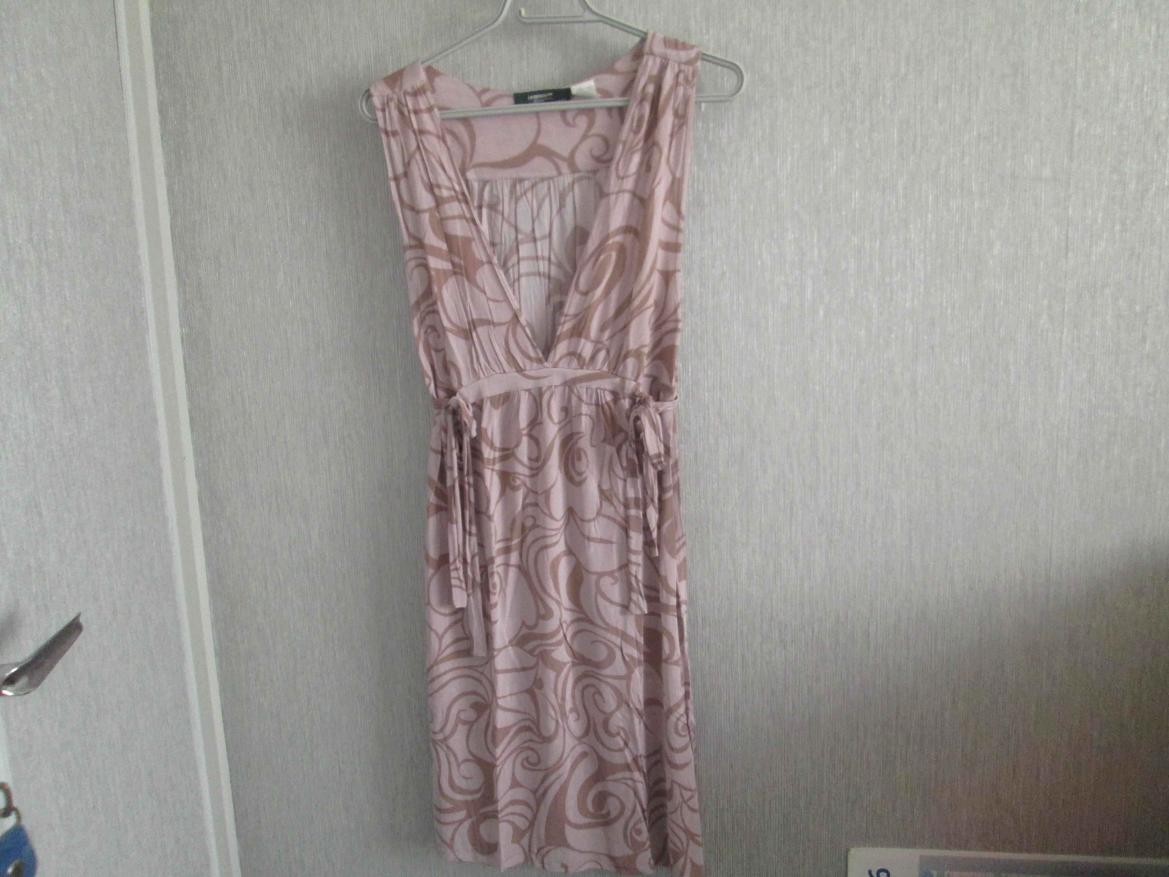 troc de troc robe beige taille 42   la redoute 7 noisettes image 0
