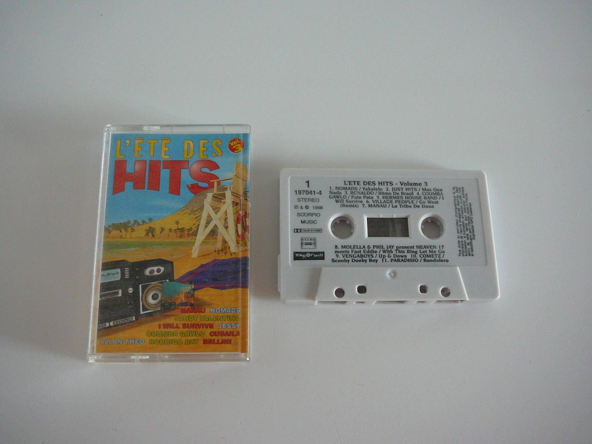 troc de troc cassette audio l'été des hits image 0