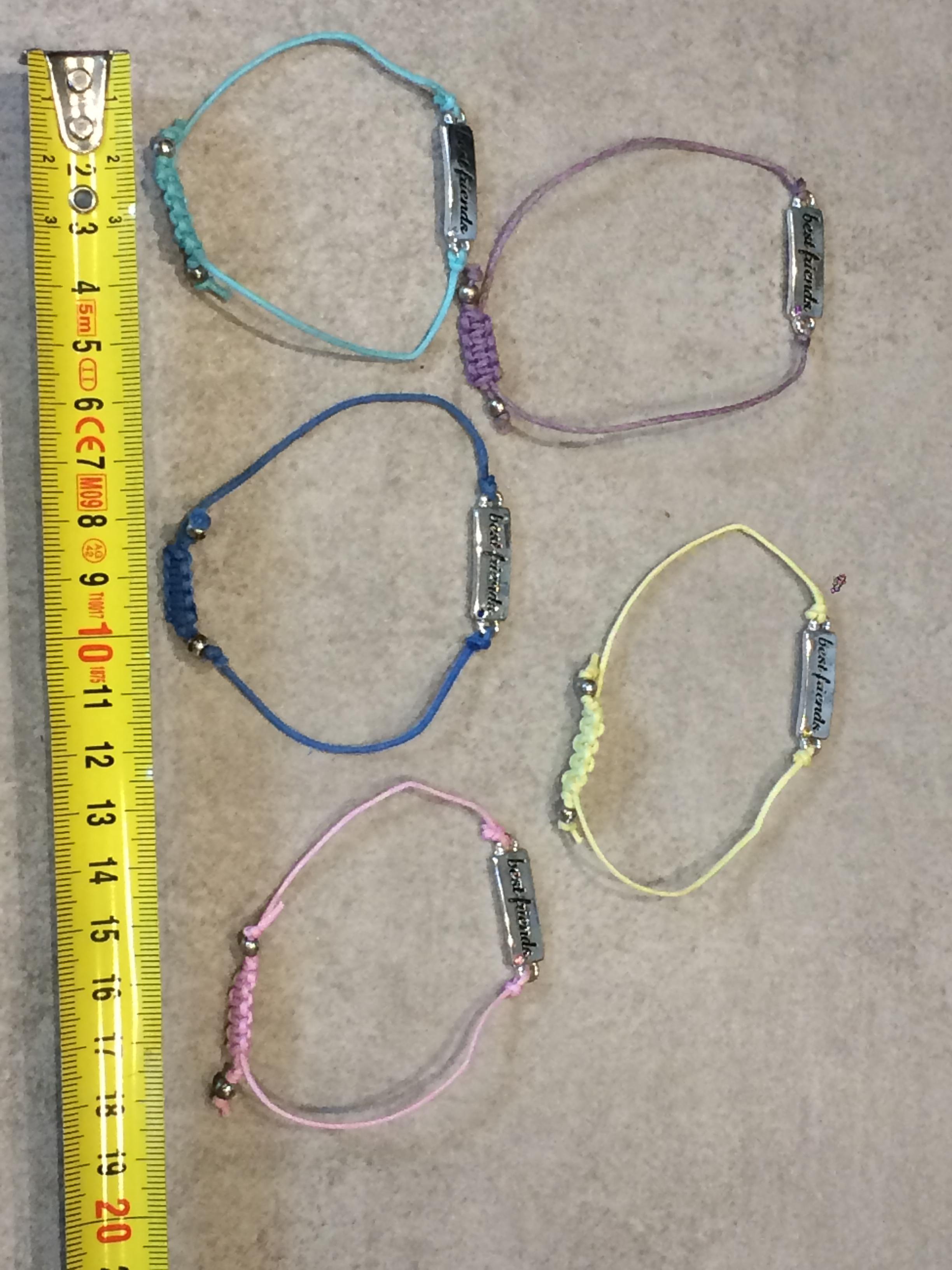troc de troc 5 bracelets best friends image 0