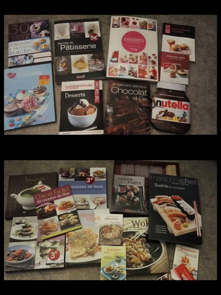 troc de troc lot livres de cuisines salé sucré image 0