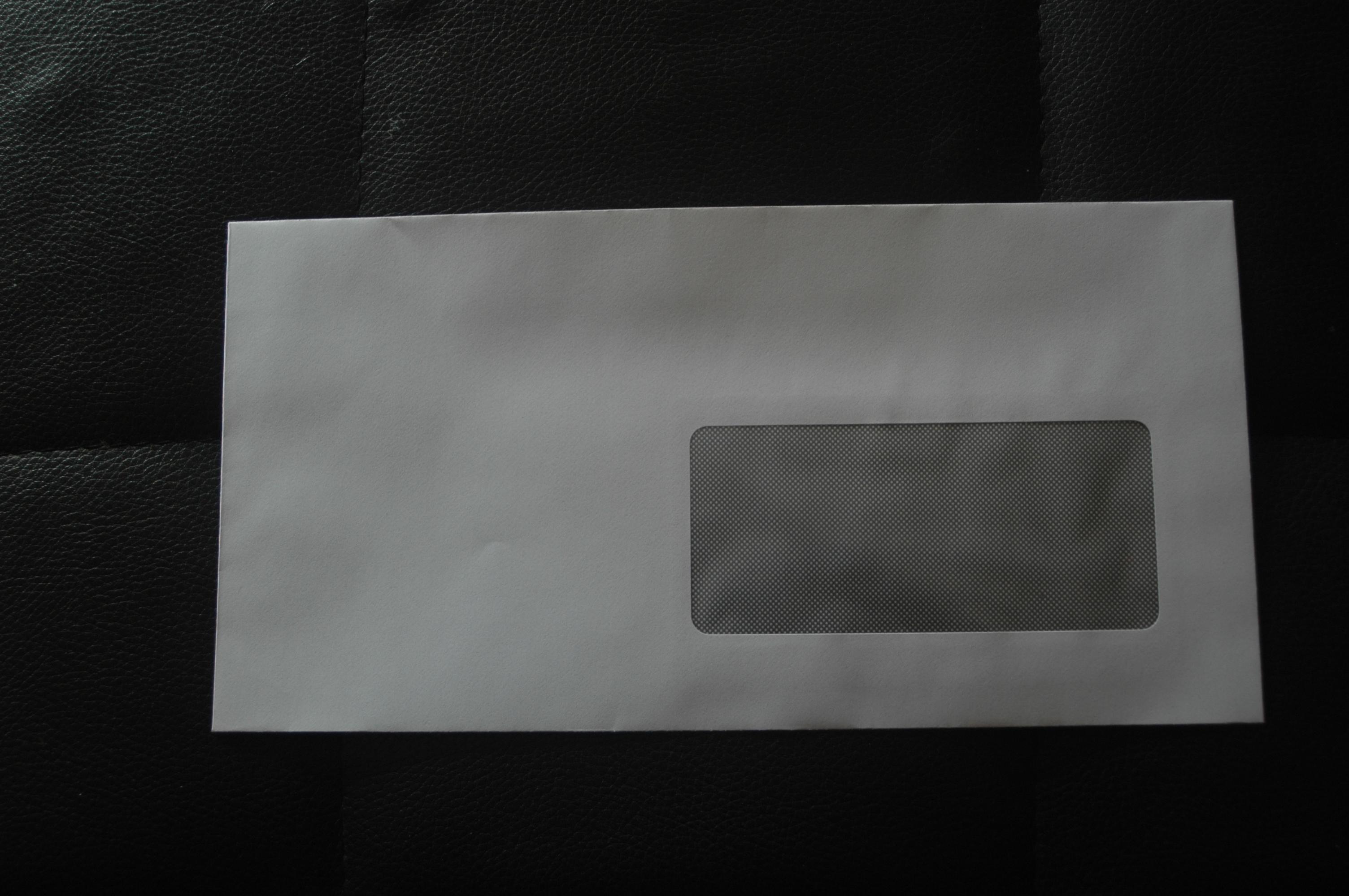 troc de troc lot 20 enveloppe à fenêtres image 0
