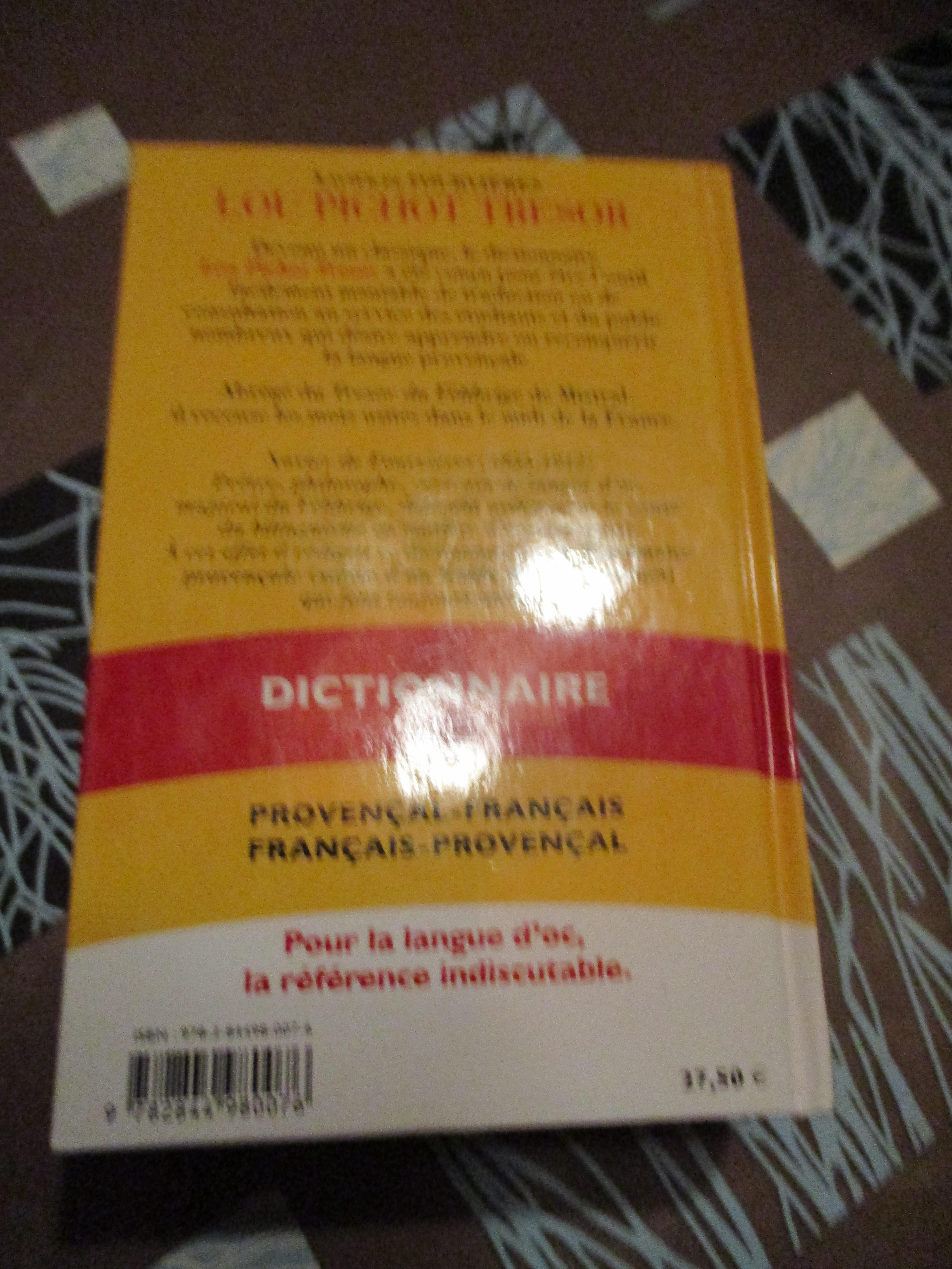 troc de troc lou pichot trésor : dictionnaire provencal image 1