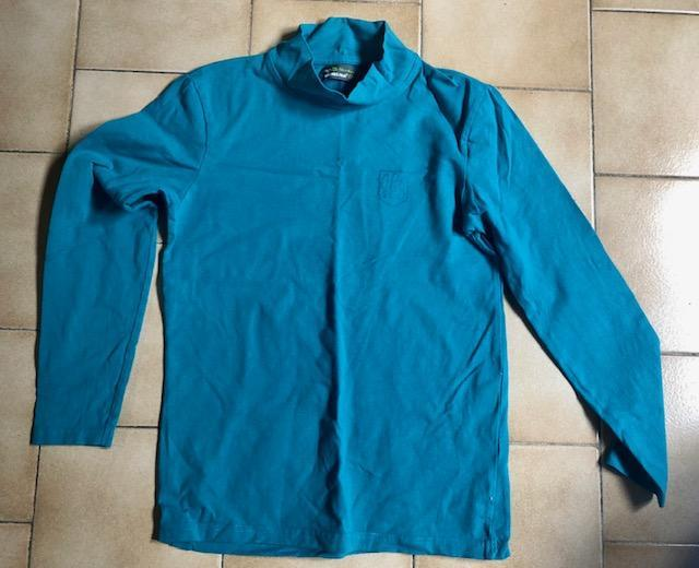 troc de troc tshirt sous pull ml orchestra bleu turquoise 12 ans image 0