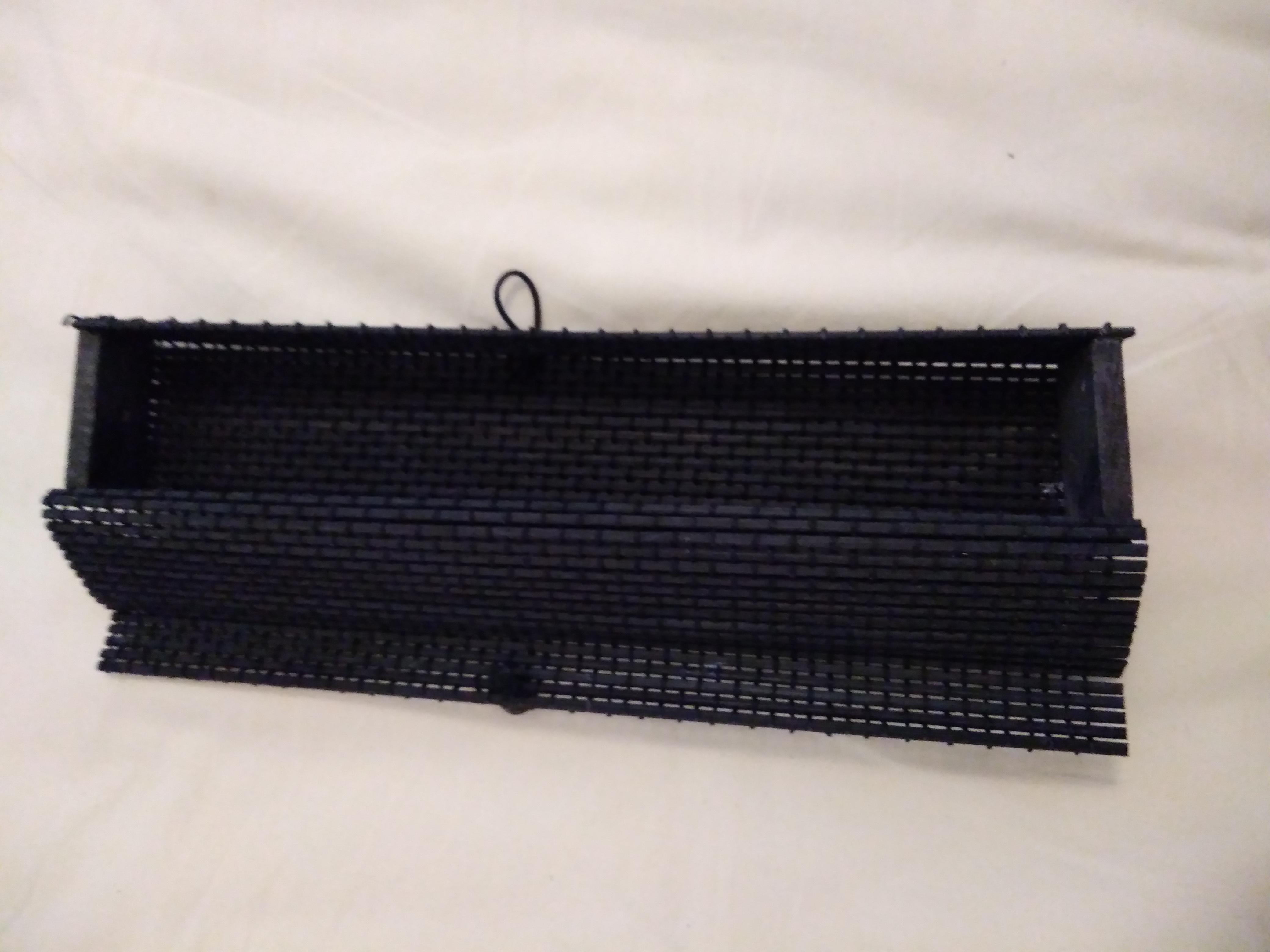 troc de troc boîte / trousse en bois noir image 1