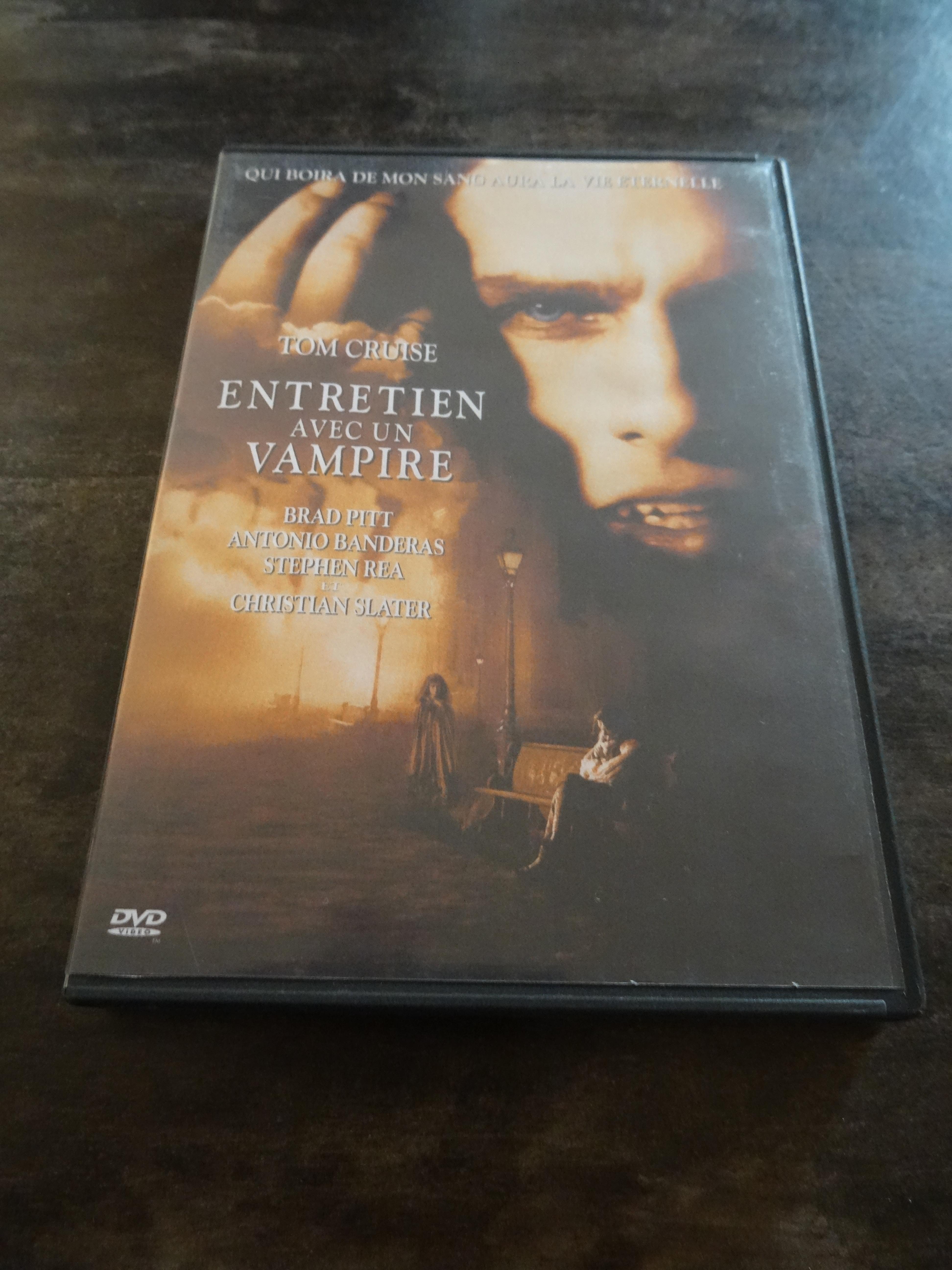 troc de troc dvd gravé - entretien avec un vampire image 0