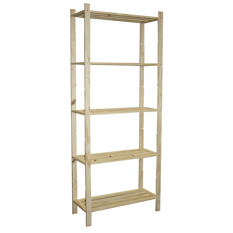 troc de troc urgent..etagere en bois.6 tablettes.1m 70 cm image 1