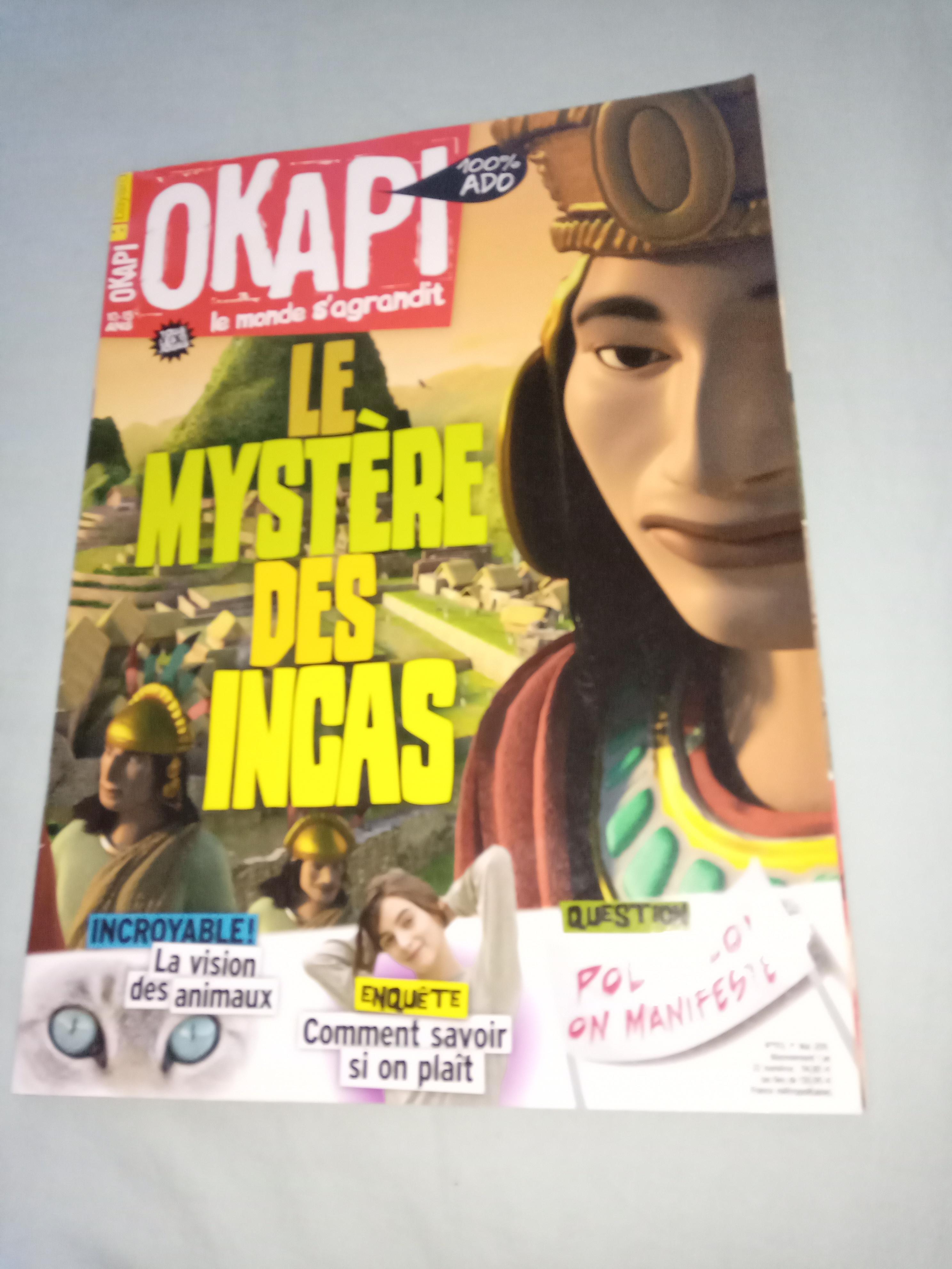 troc de troc okapi *dispo image 0