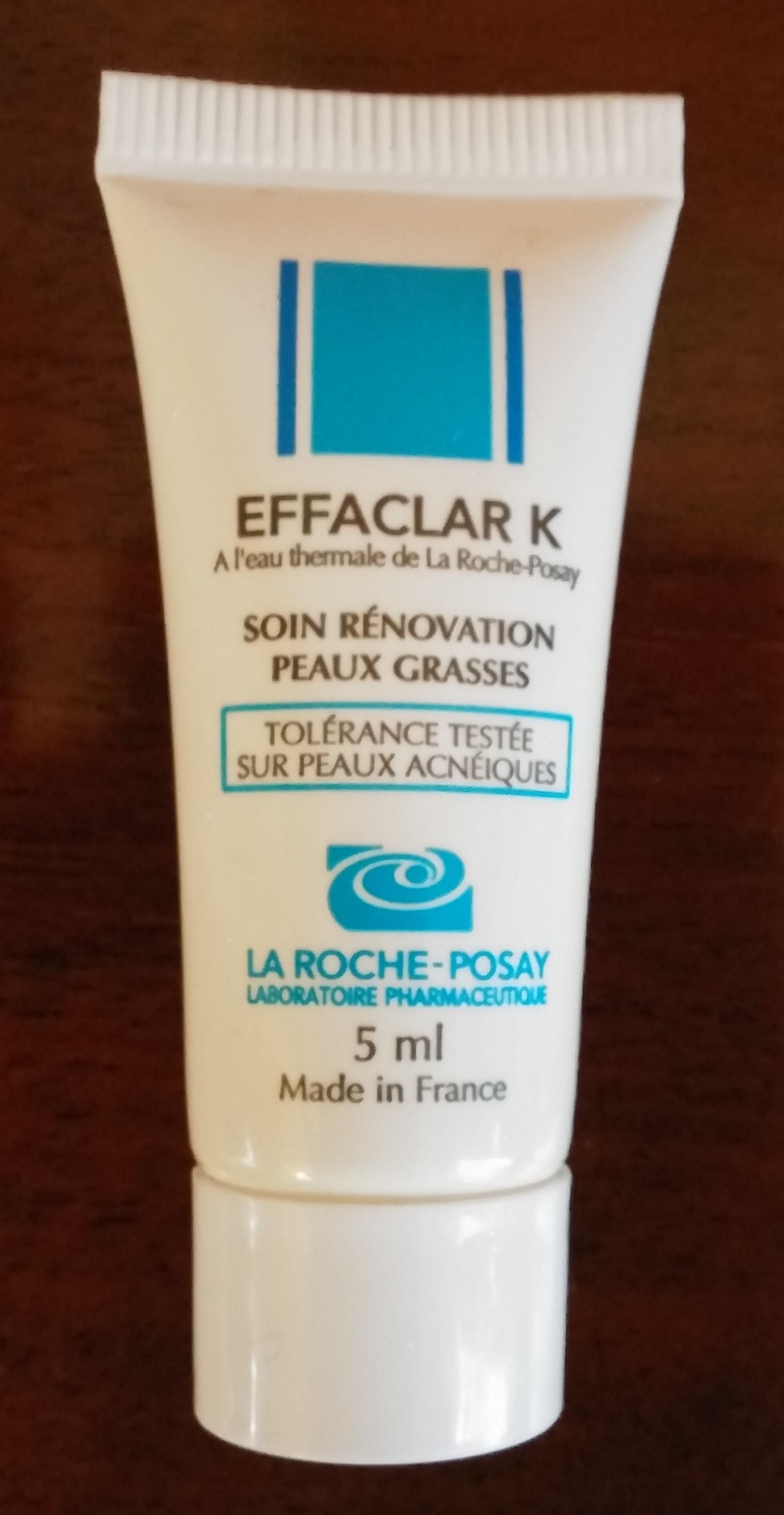 troc de troc (réservé) la roche posay effaclar k, soin rénovation peau grasse, 5ml image 0