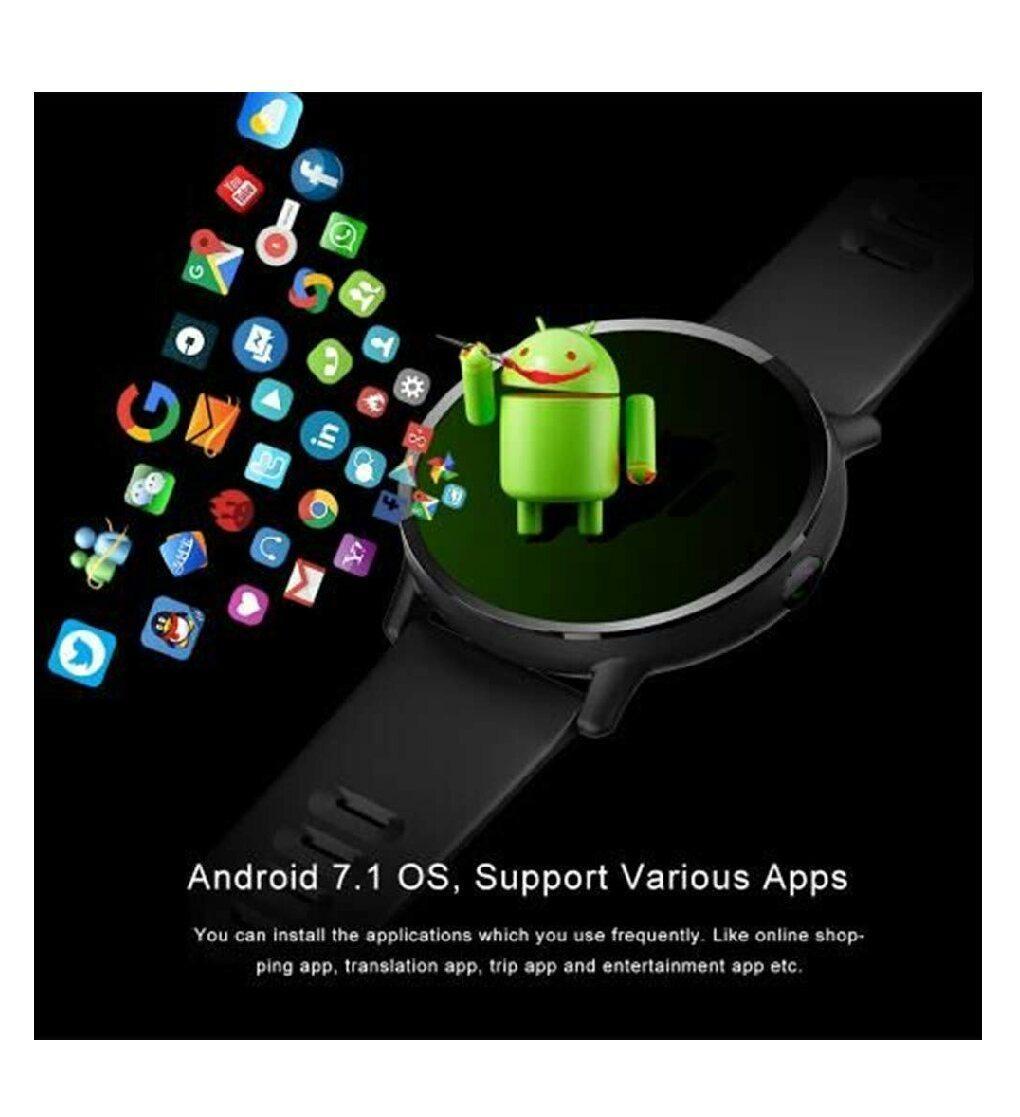 troc de troc smartwatch lemfo lem x 16gb android 7.1 image 2