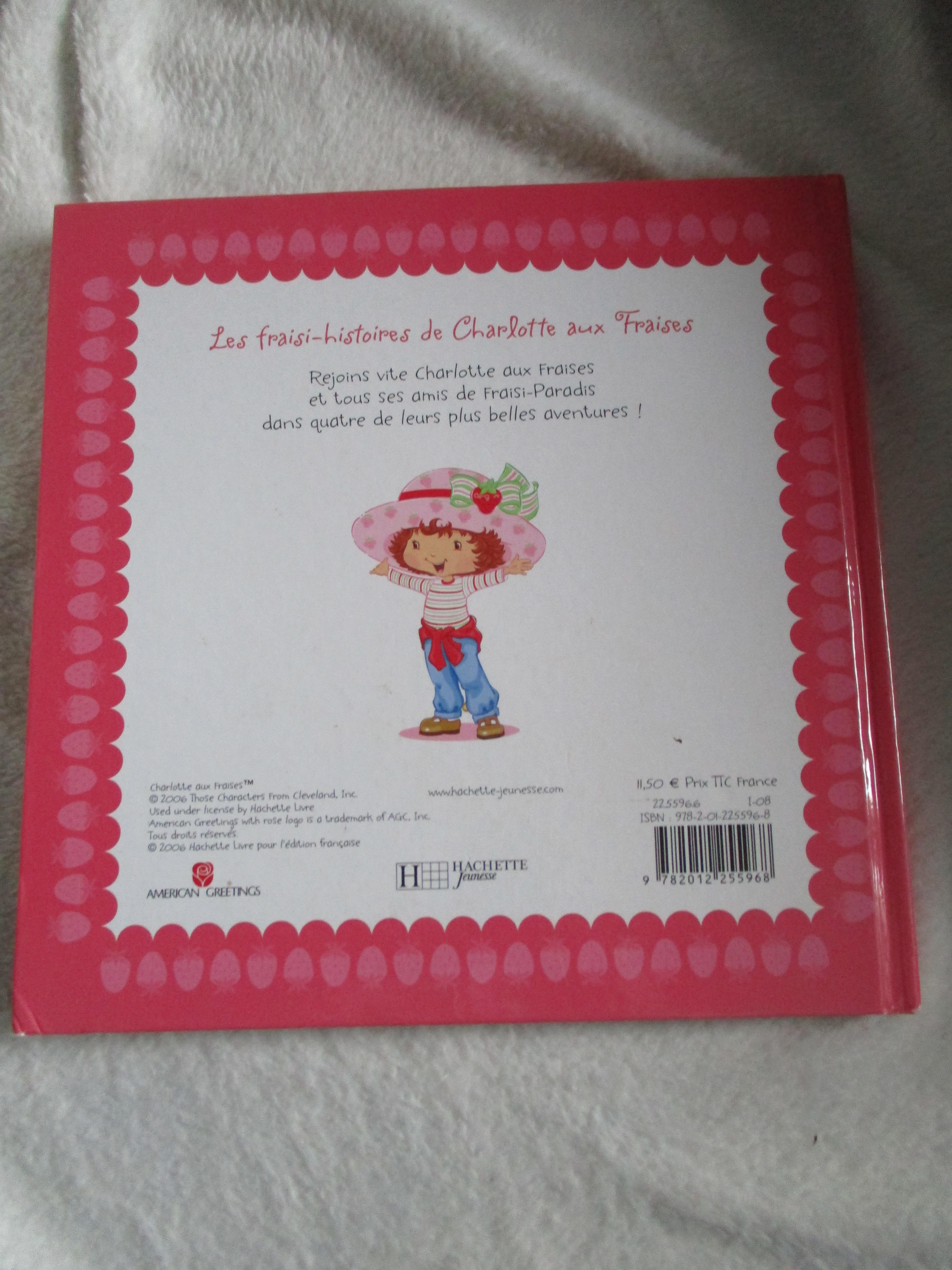 troc de troc grand livre charlotte aux fraises image 1