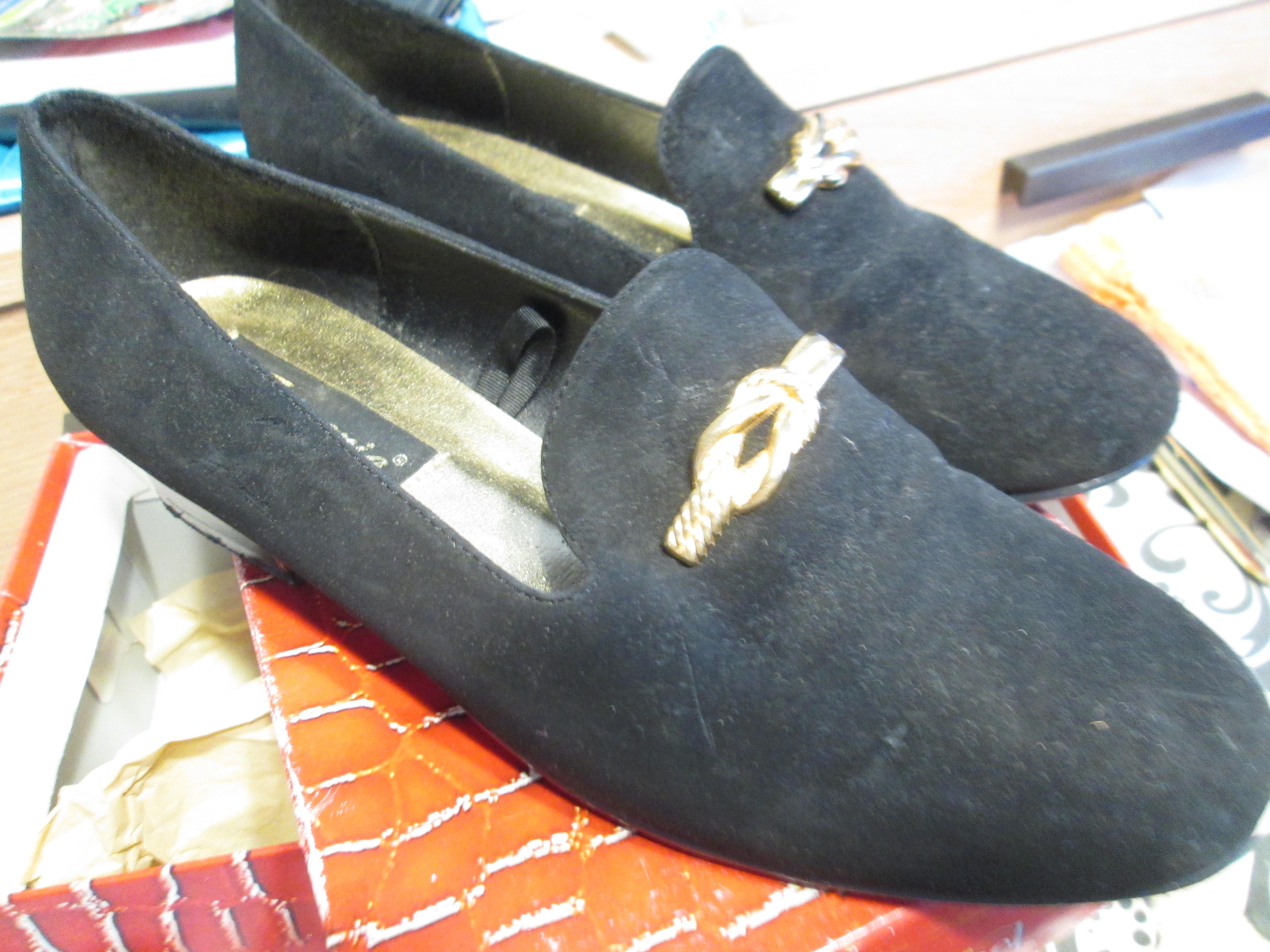 troc de troc très jolie souliers noir habillé pour les fêtes pointure 39 image 0