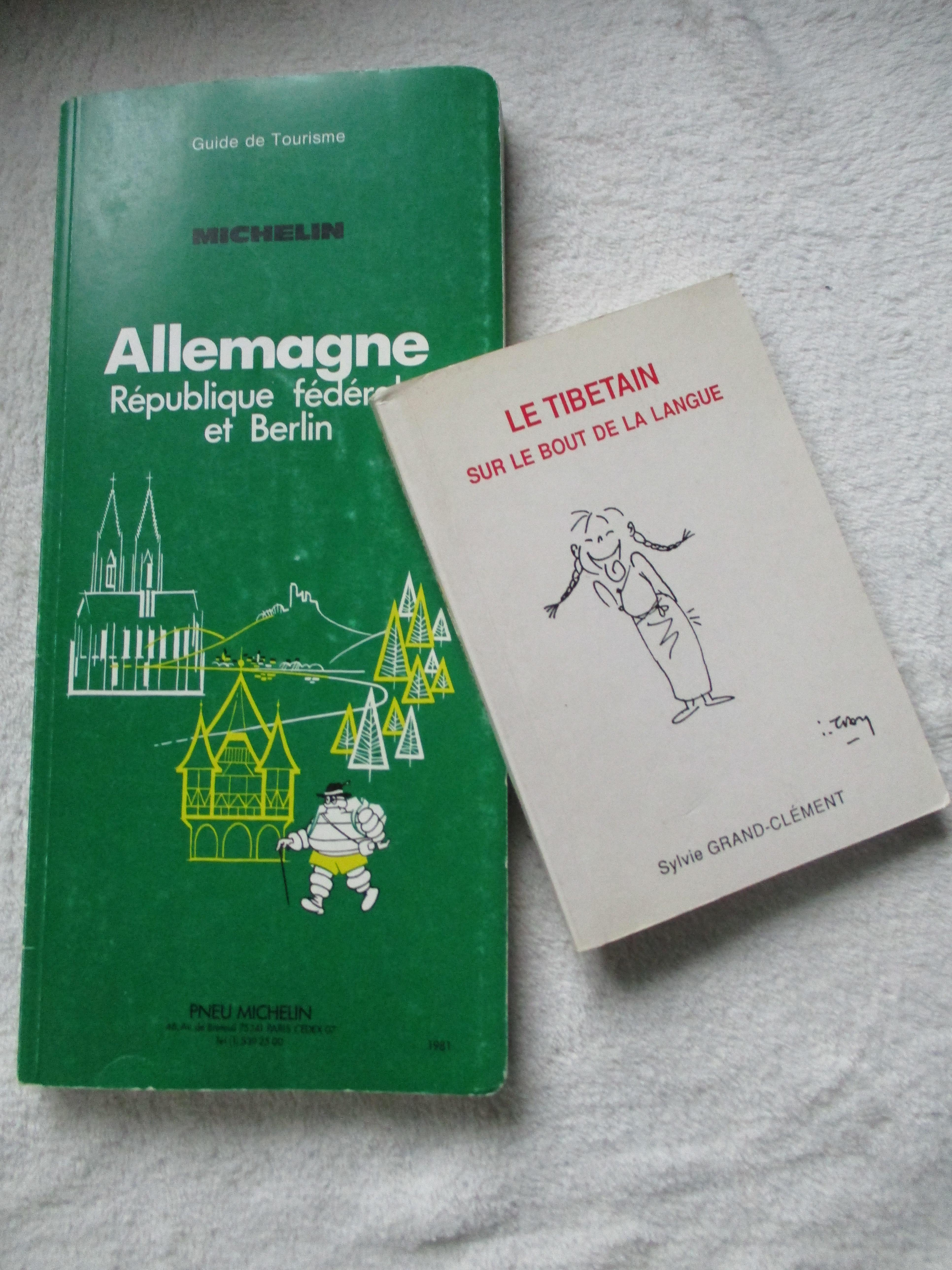 troc de troc livres pour voyage : guide vert allemagne - le tibétain image 0
