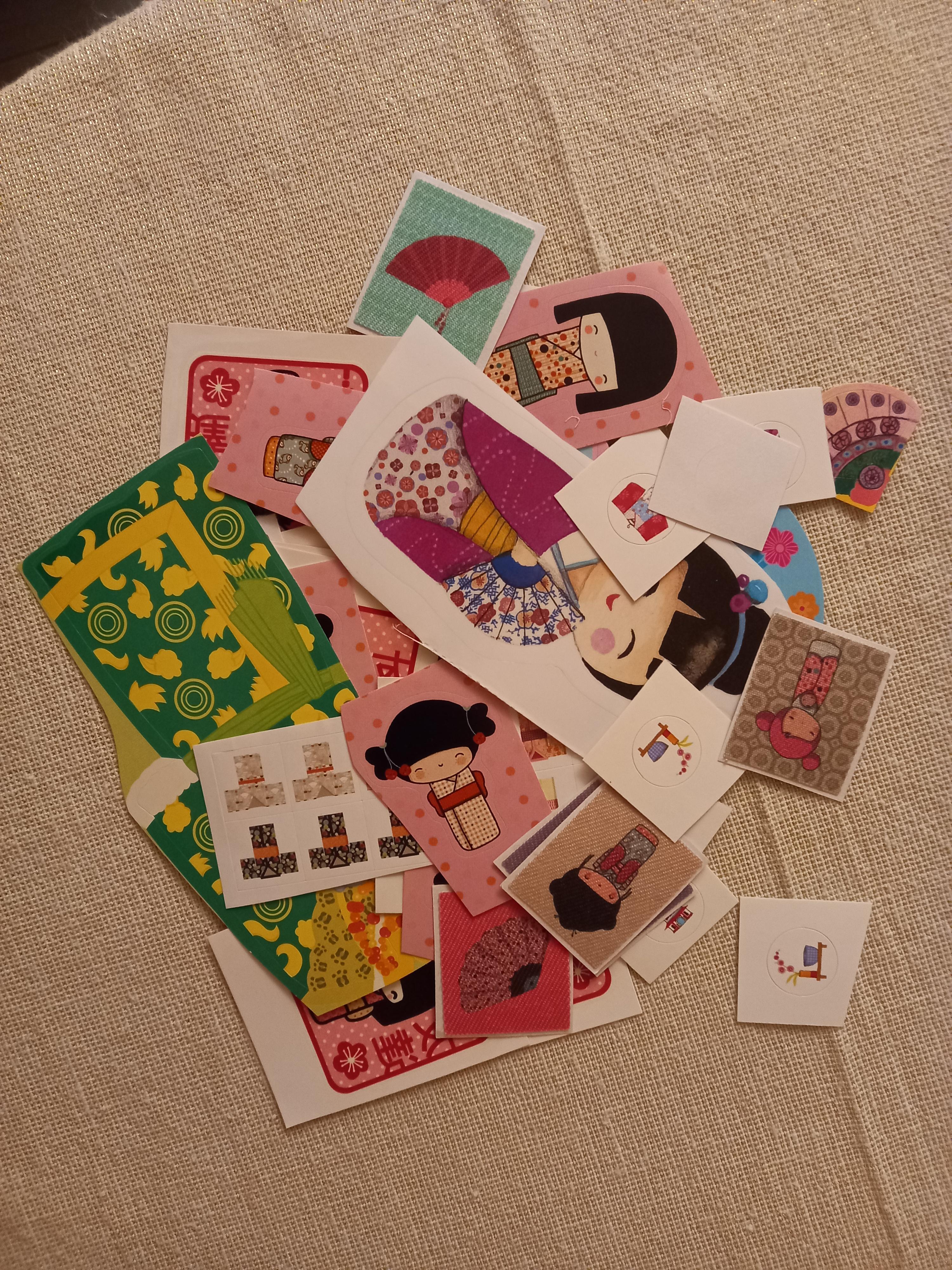 troc de troc stickers sur l'asie. image 0