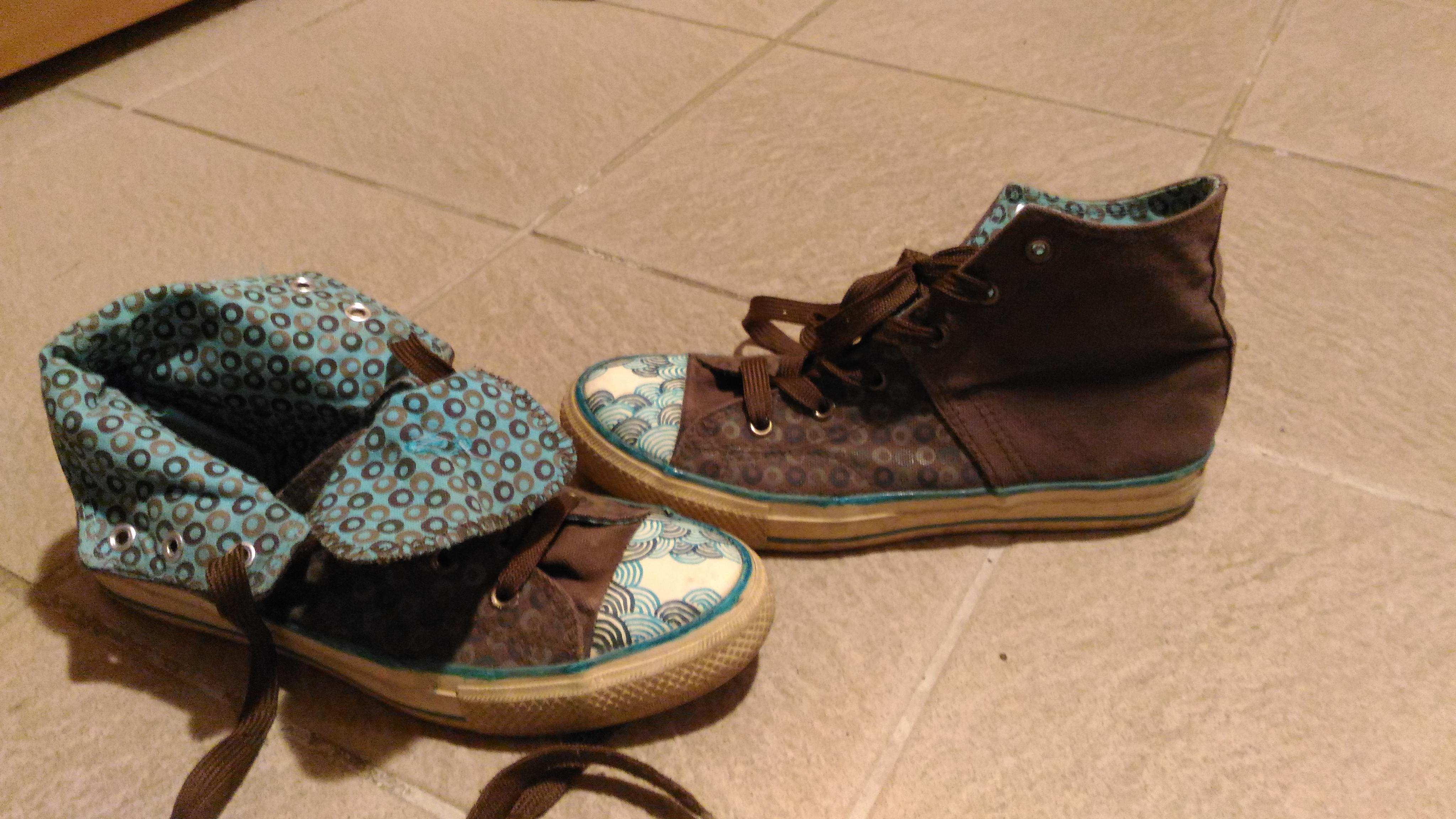 troc de troc chaussures type converse image 0