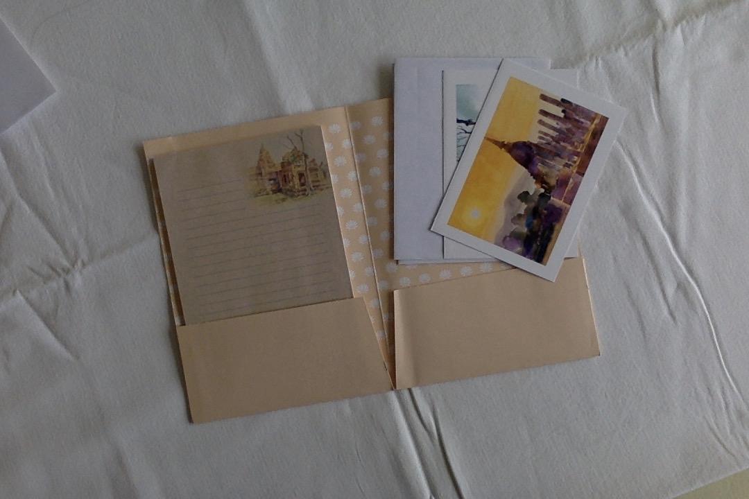 troc de troc papier correspondance avec 2 cartes image 0