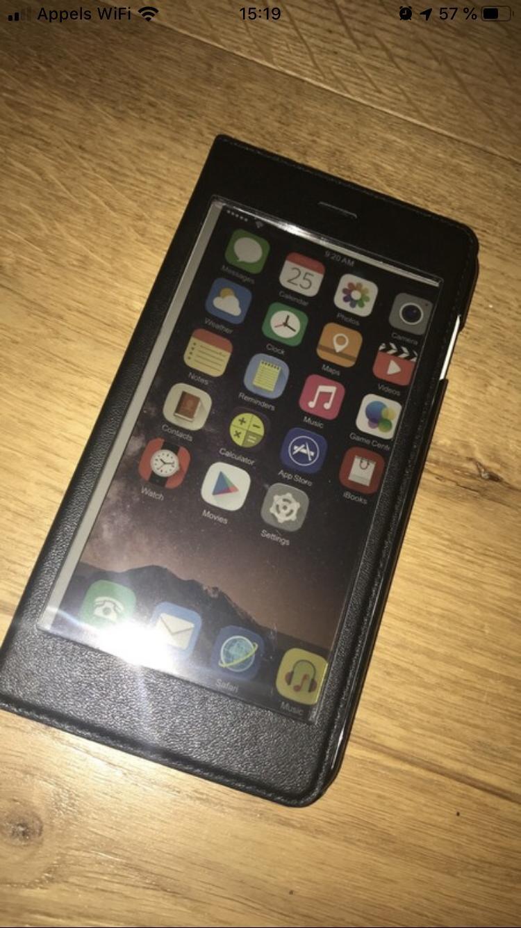 troc de troc coque tactile iphone 6 plus/6s plus image 1