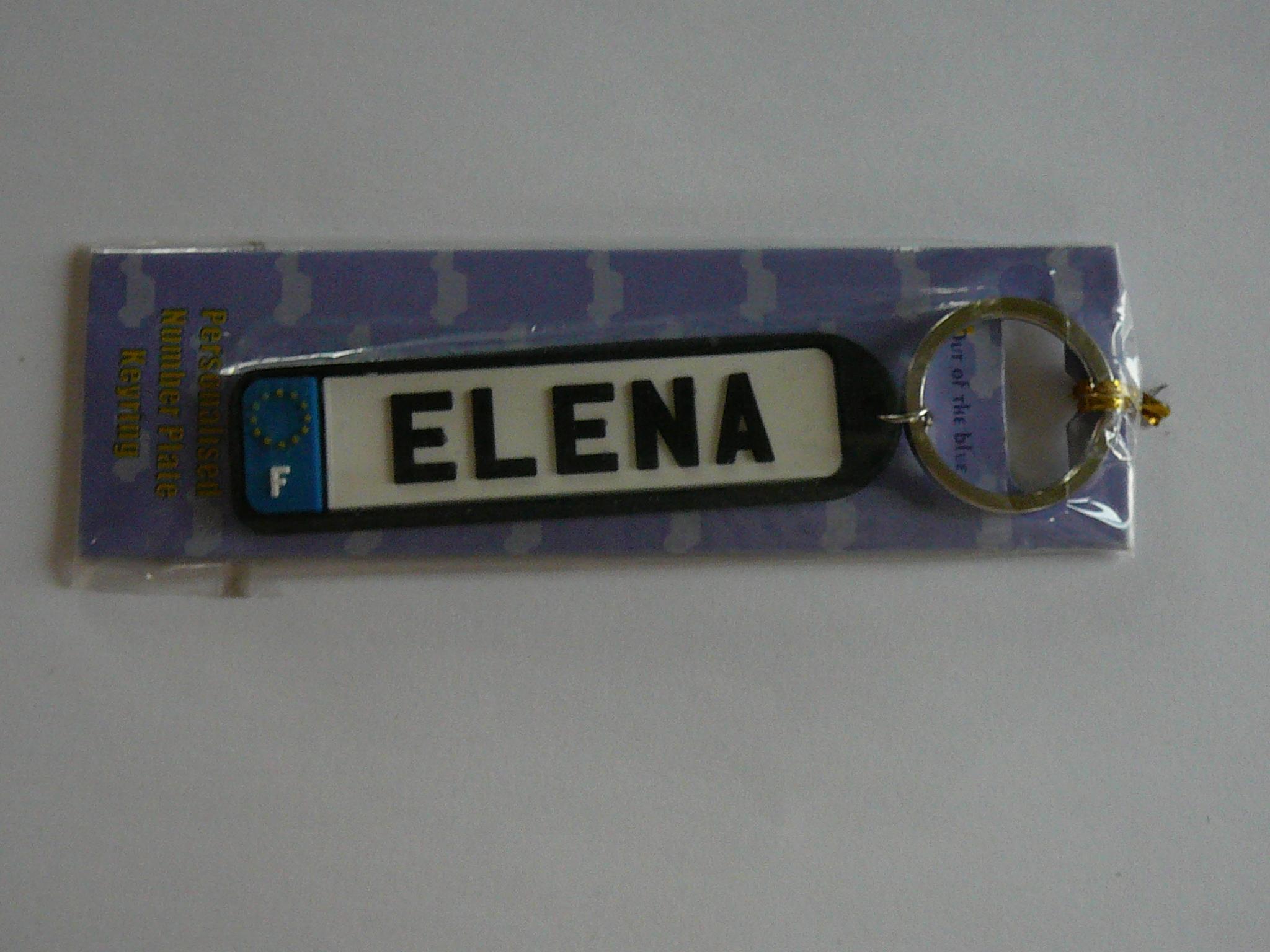 """troc de troc porte clés """"elena"""" image 0"""