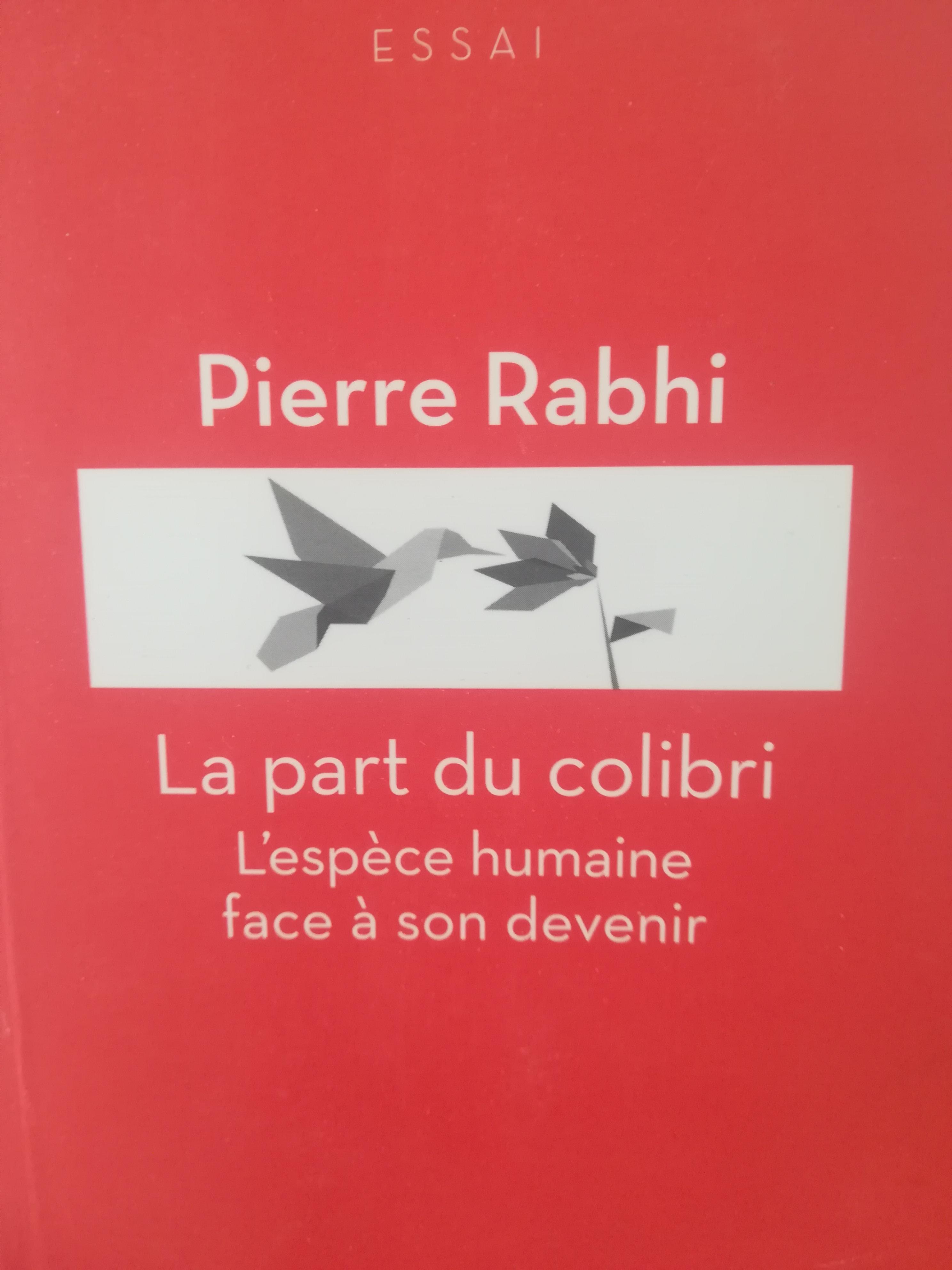 troc de troc livre la part du colibri pierre rhabi image 0