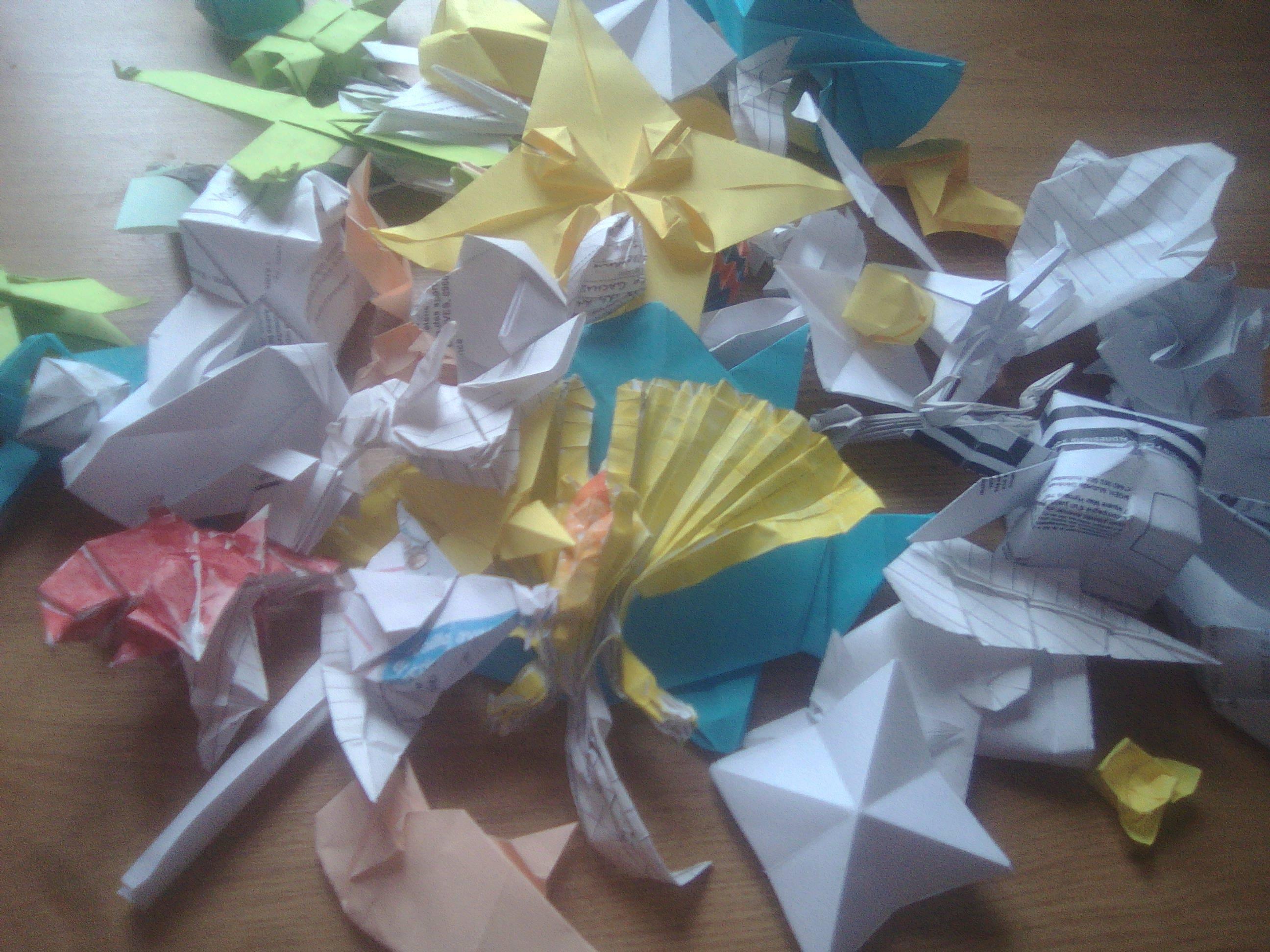 troc de troc origami sur demande image 1