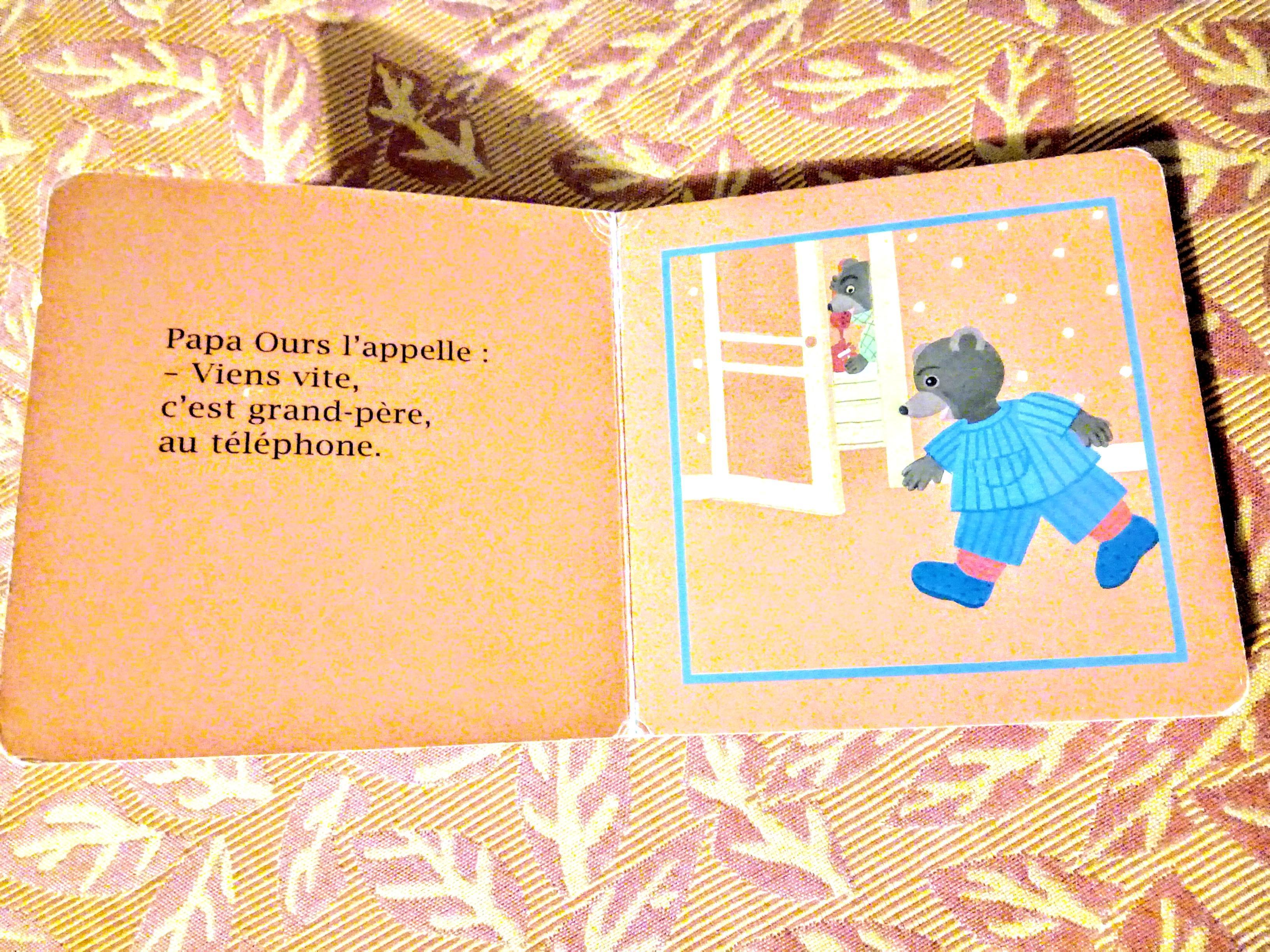 troc de troc petit ours brun rÉpond au tÉlÉphone image 1