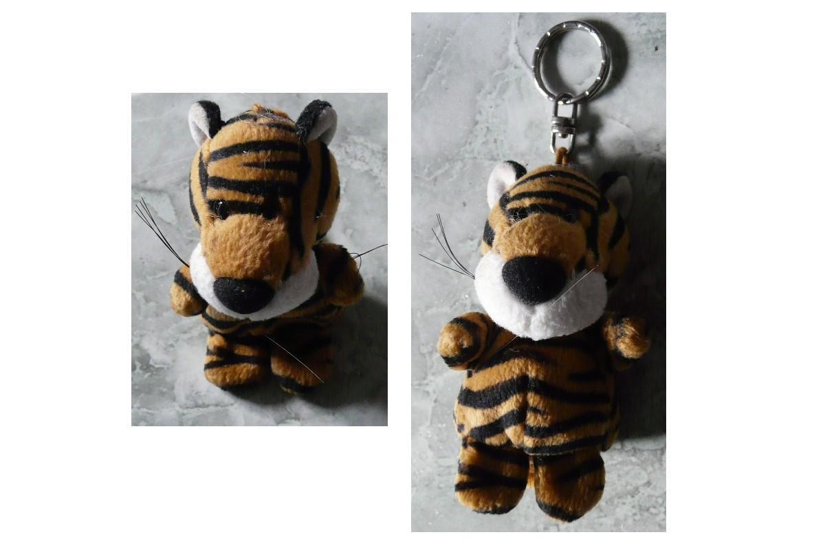 troc de troc porte clÉ peluche tigre image 0