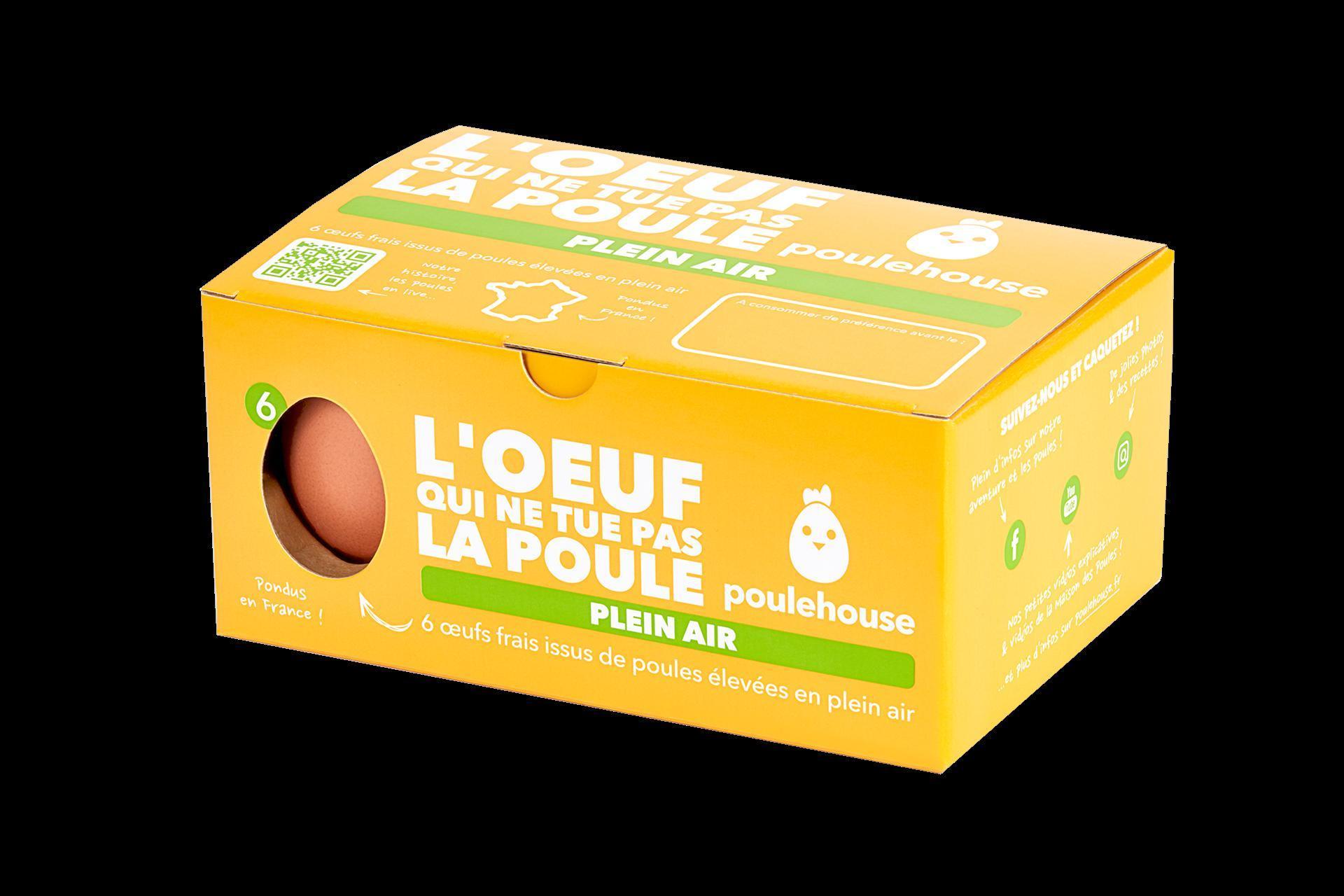 troc de troc **epuise** boite d'oeufs poulehouse plein-air image 1