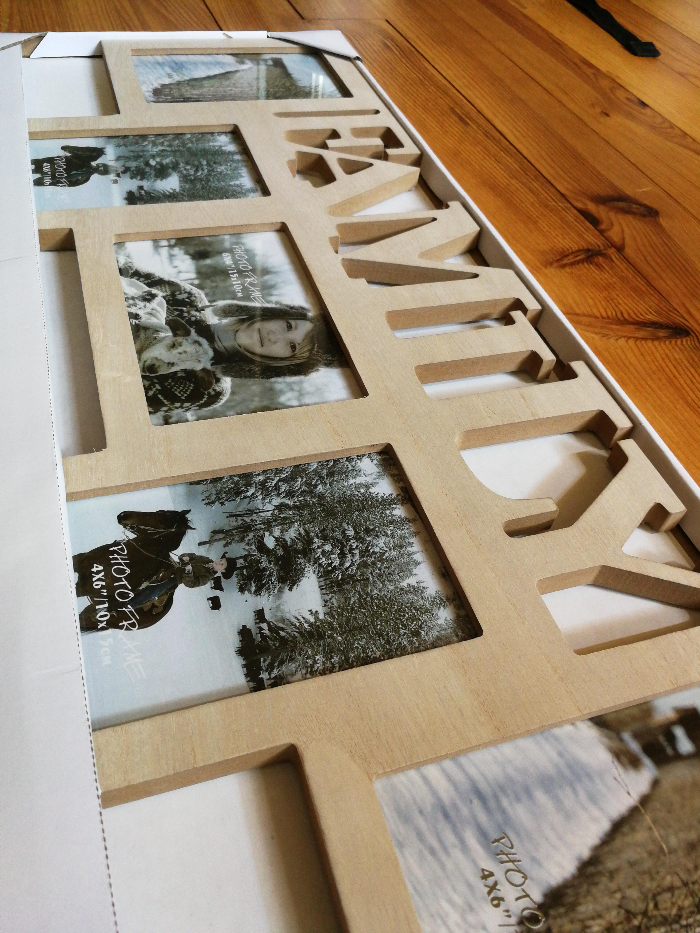 """troc de troc cadre photo """"family"""" image 1"""