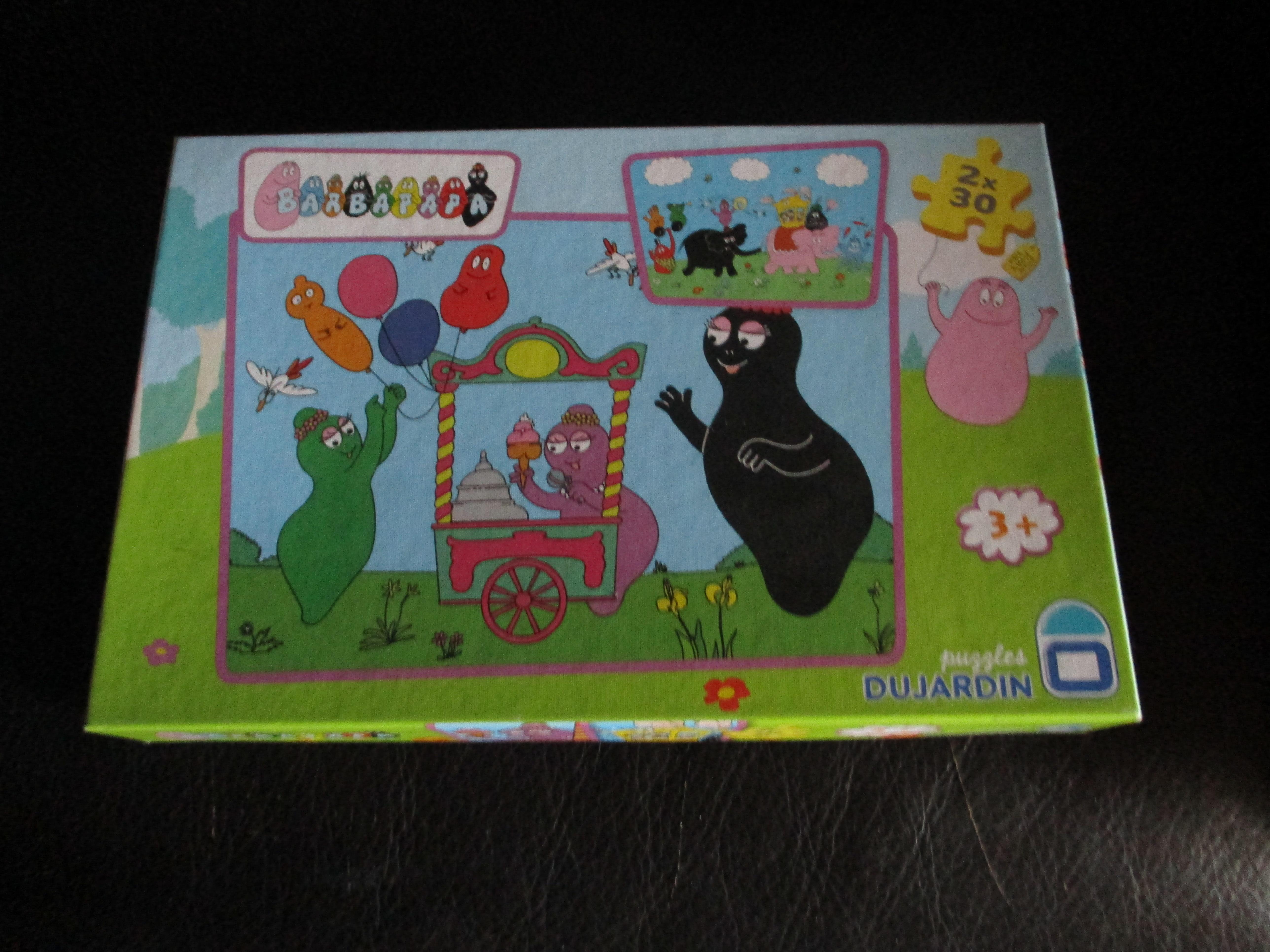 troc de troc boîte deux puzzles barbapapa image 0