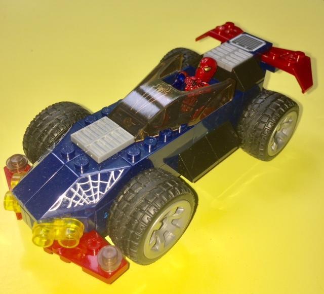 troc de troc spiderman speedracer - collector rare - megabloks 91337 image 1