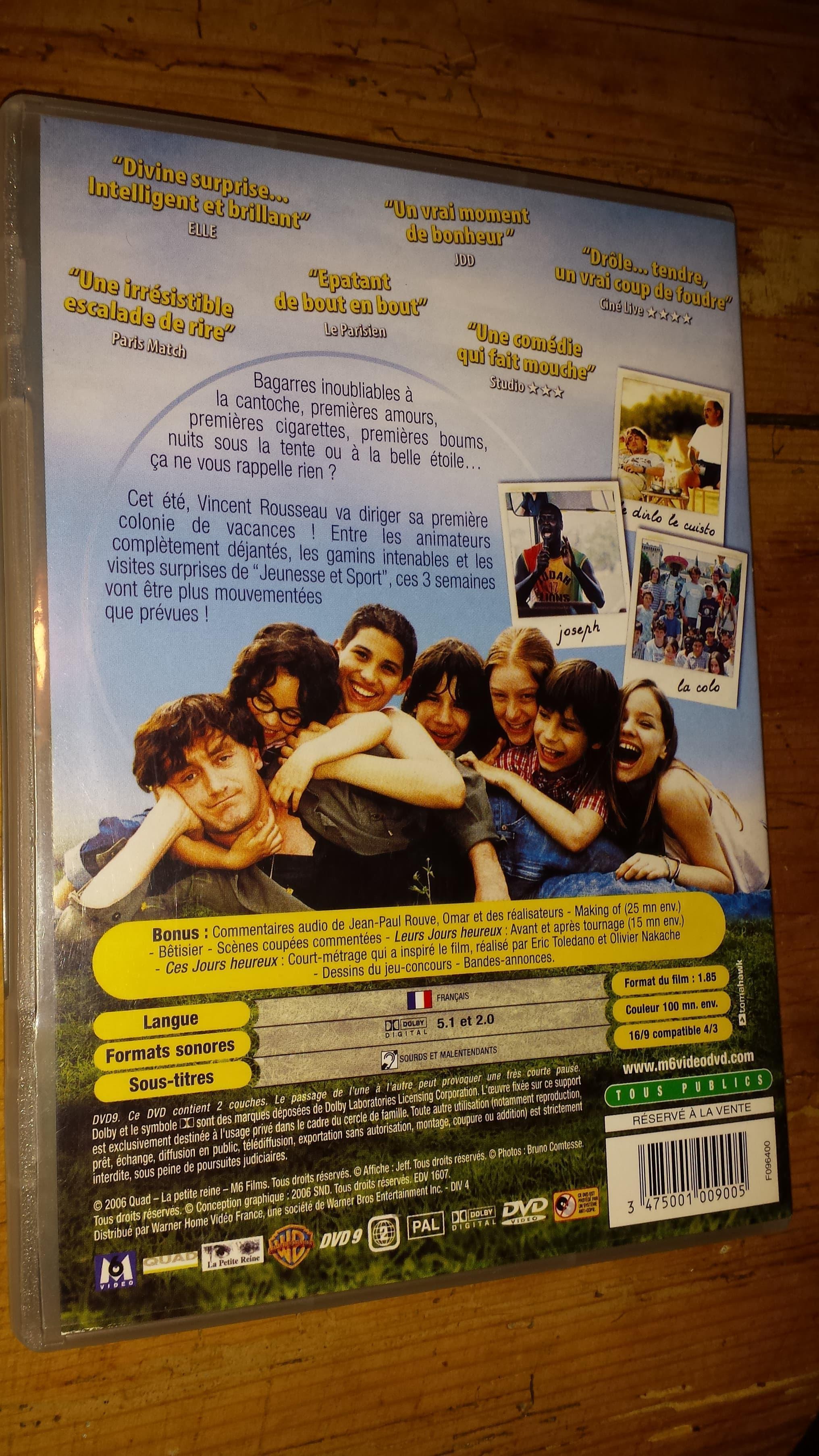 """troc de troc dvd film """"nos jours heureux"""" image 1"""