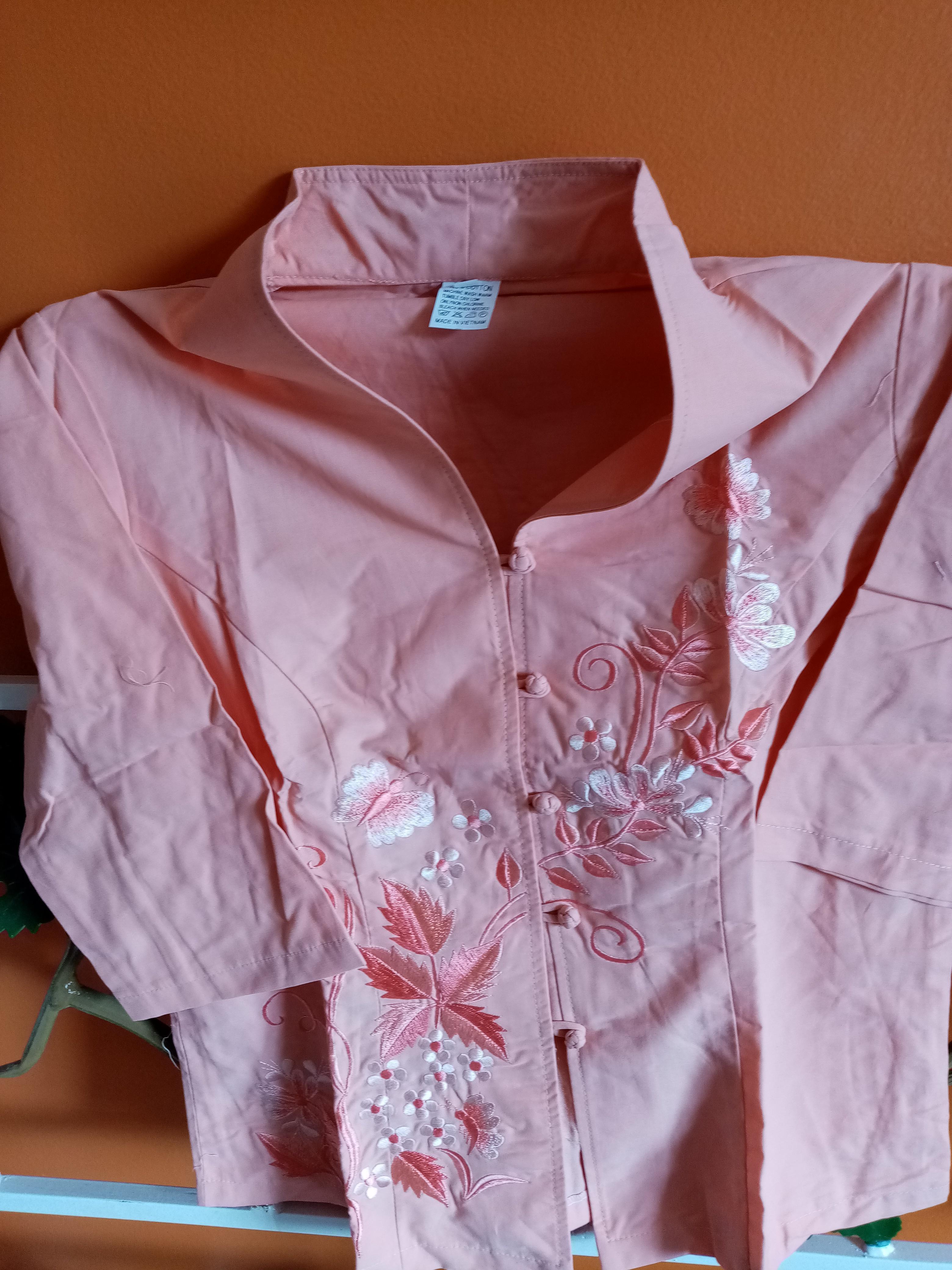 troc de troc blouse en cotton image 2