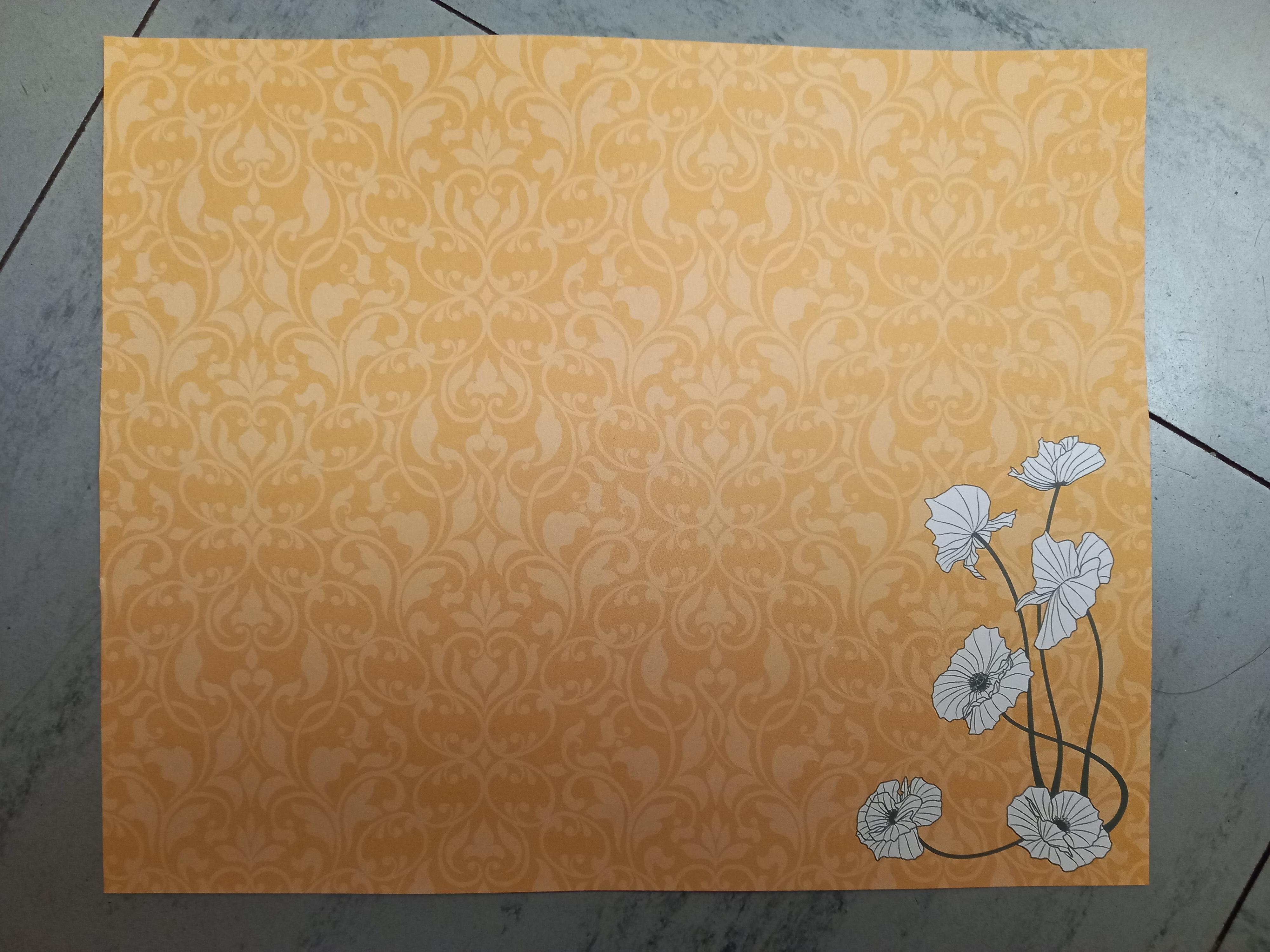 troc de troc papier créatif recto/verso. image 0