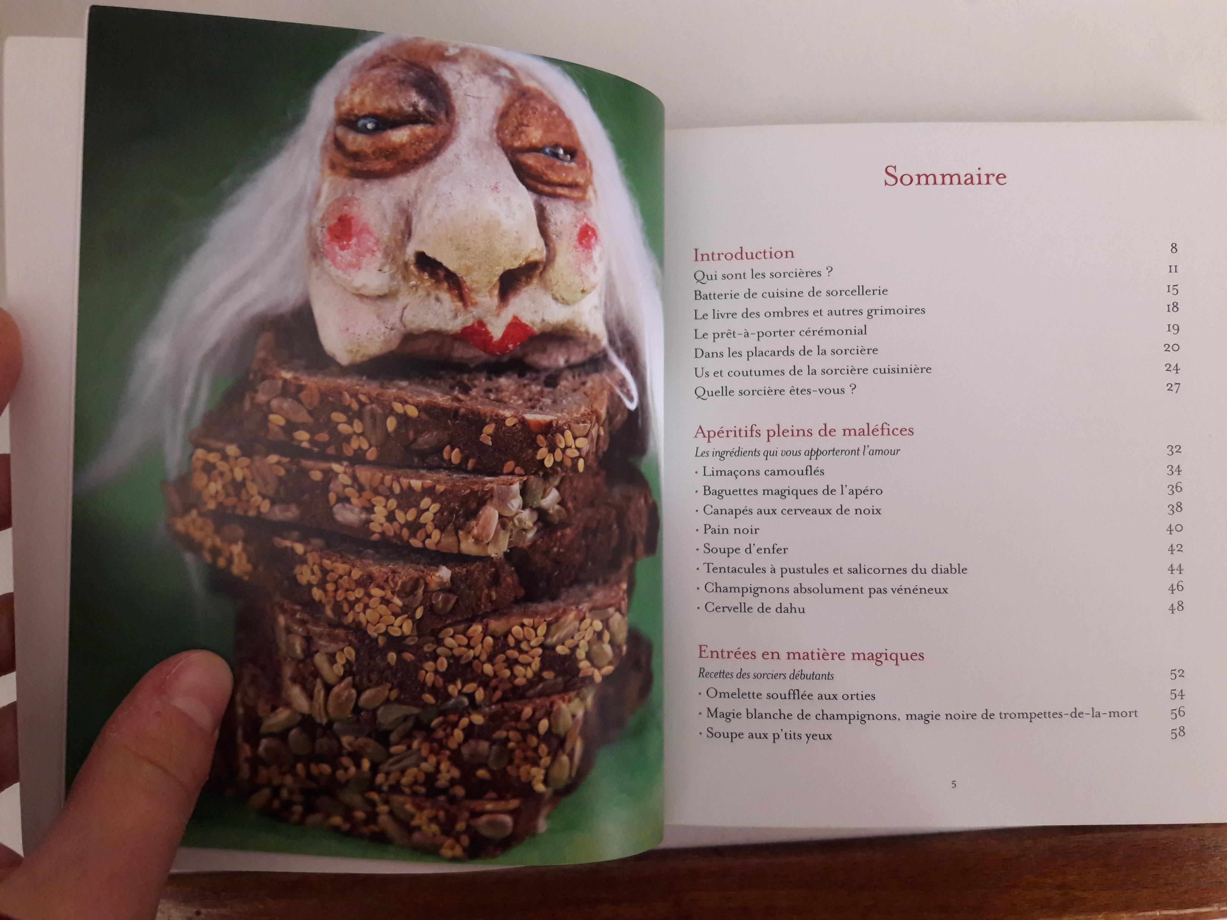 """troc de troc livre """"recettes magiques à l'usage des sorcières"""" image 2"""