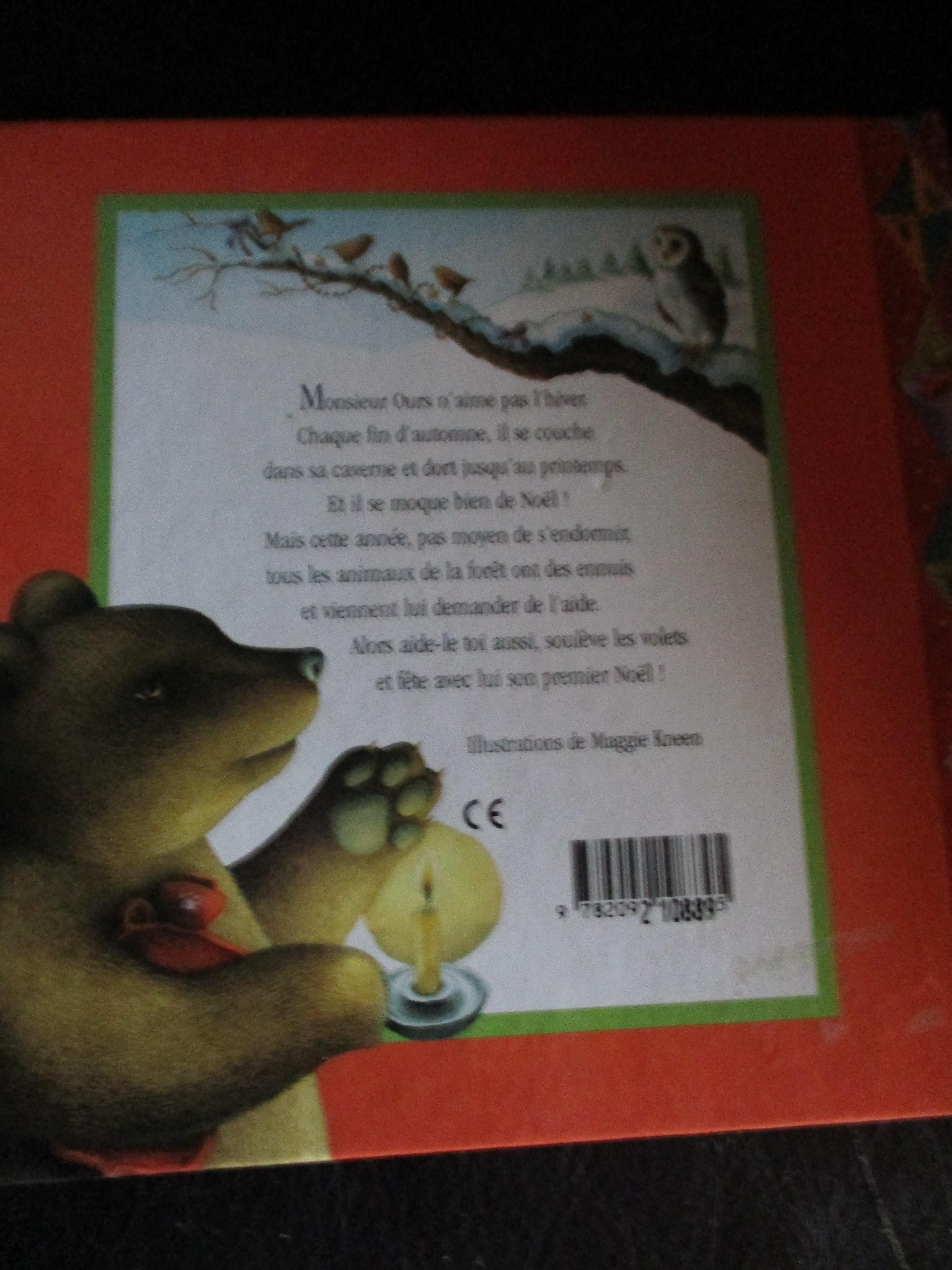 troc de troc album animé : le premier noel de monsieur ours image 1